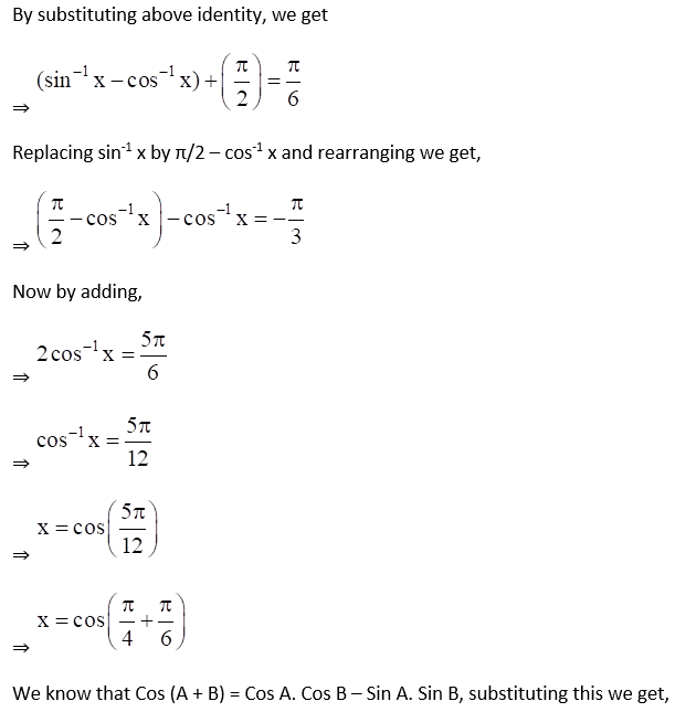 RD Sharma Solutions for Class 12 Maths Chapter 4 Inverse Trigonometric Functions Image 52