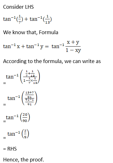 RD Sharma Solutions for Class 12 Maths Chapter 4 Inverse Trigonometric Functions Image 55
