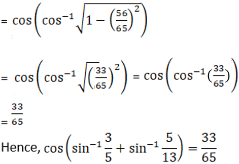 RD Sharma Solutions for Class 12 Maths Chapter 4 Inverse Trigonometric Functions Image 62a