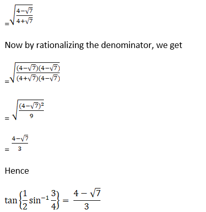 RD Sharma Solutions for Class 12 Maths Chapter 4 Inverse Trigonometric Functions Image 72