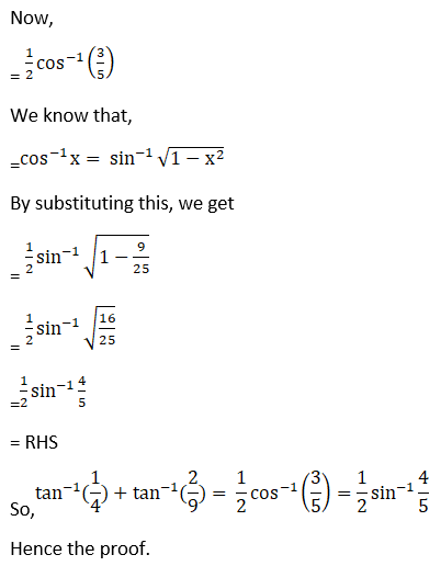 RD Sharma Solutions for Class 12 Maths Chapter 4 Inverse Trigonometric Functions Image 82