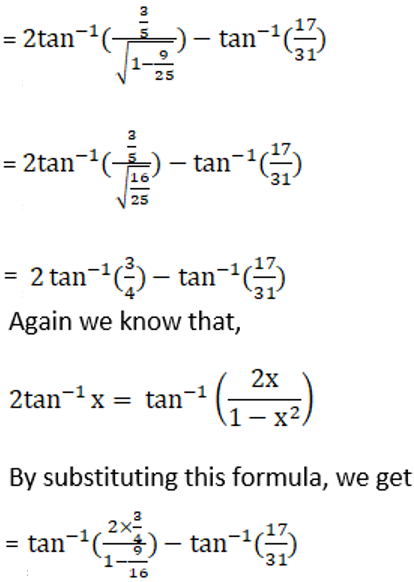 RD Sharma Solutions for Class 12 Maths Chapter 4 Inverse Trigonometric Functions Image 92