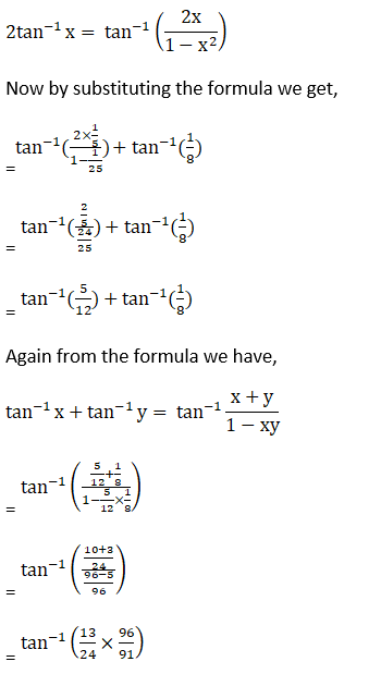 RD Sharma Solutions for Class 12 Maths Chapter 4 Inverse Trigonometric Functions Image 95