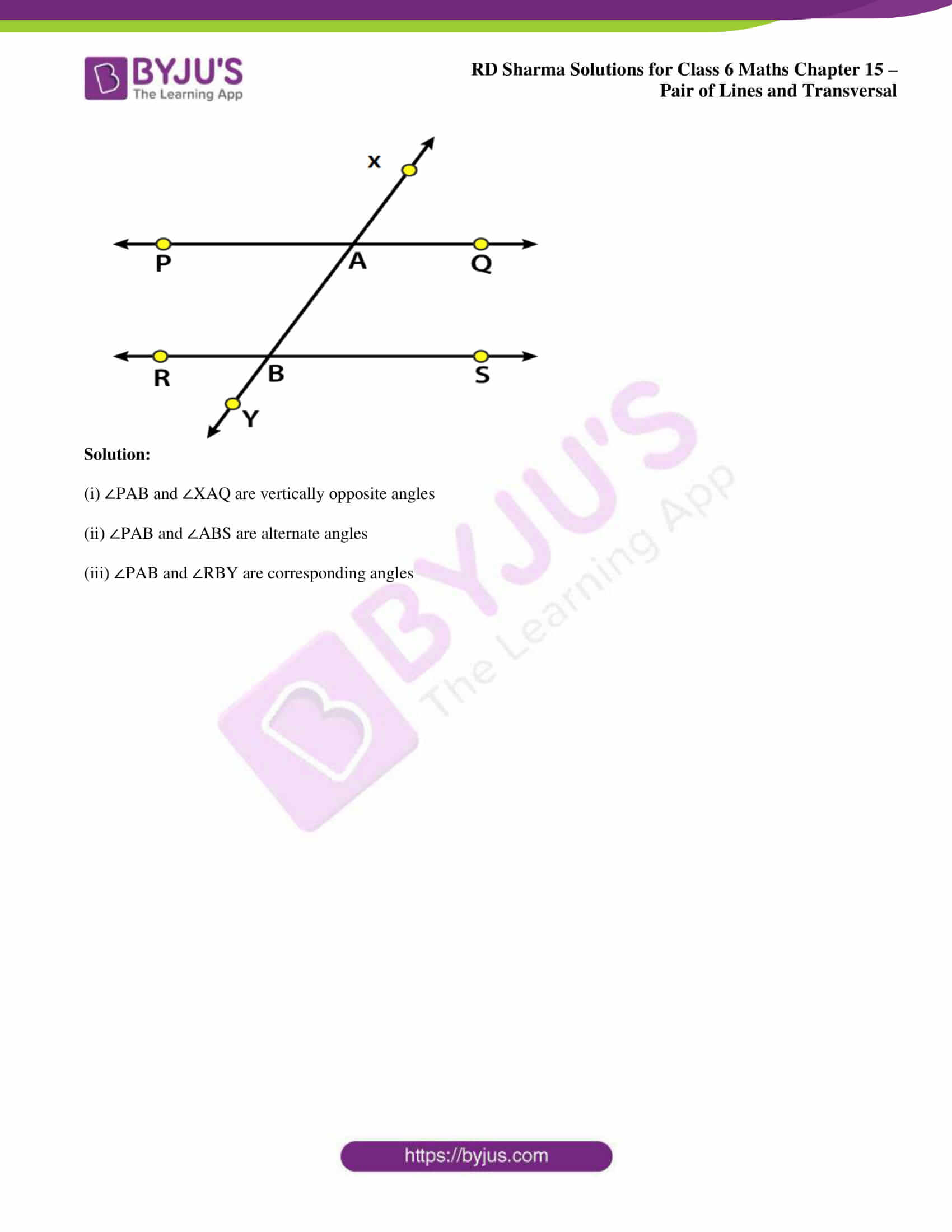 rd sharma solutions nov2020 class 6 maths chapter 15 exercise 2 2