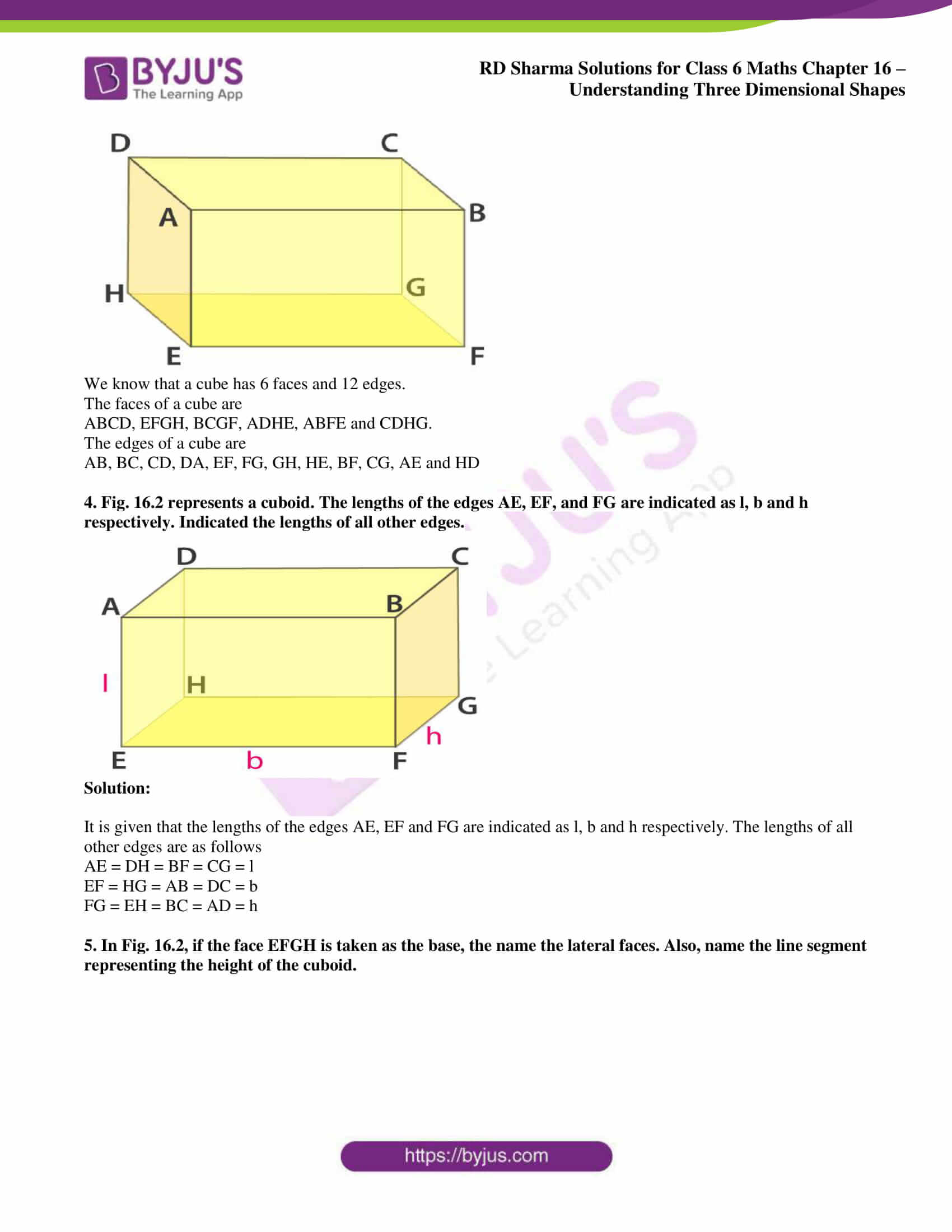 rd sharma solutions nov2020 class 6 maths chapter 16 exercise 1 2