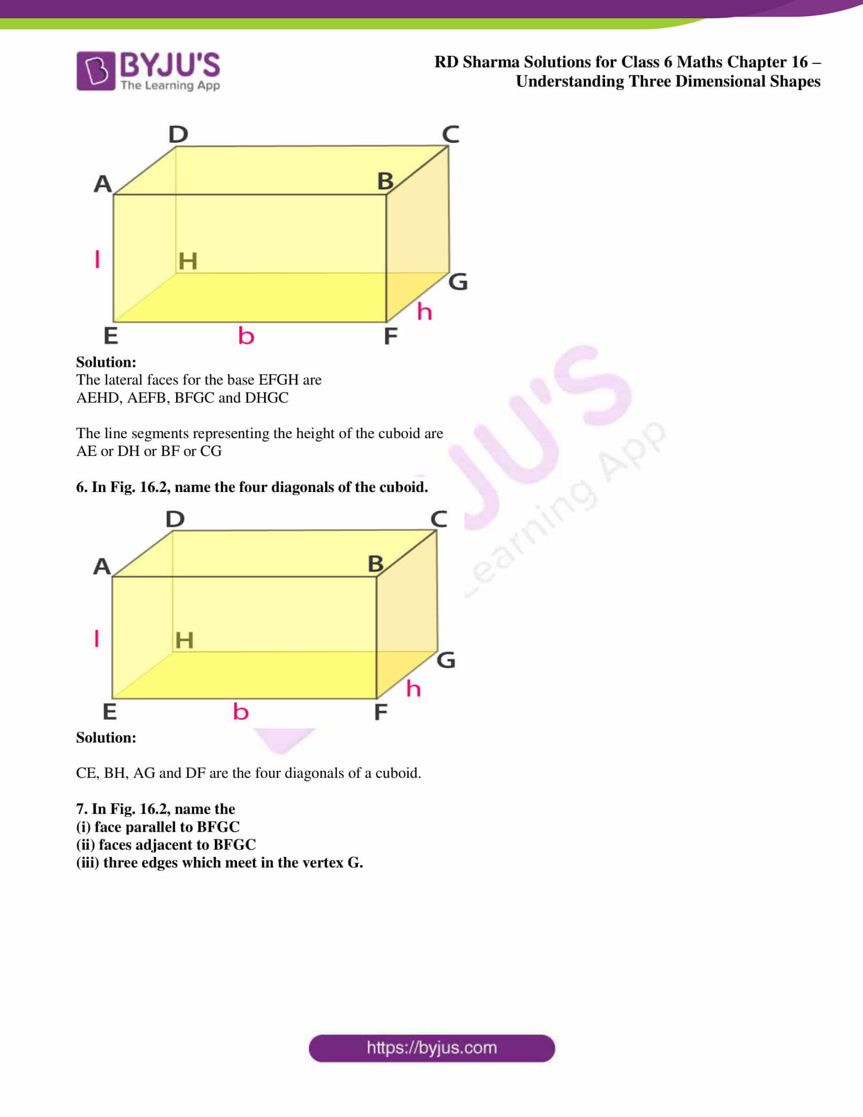 rd sharma solutions nov2020 class 6 maths chapter 16 exercise 1 3