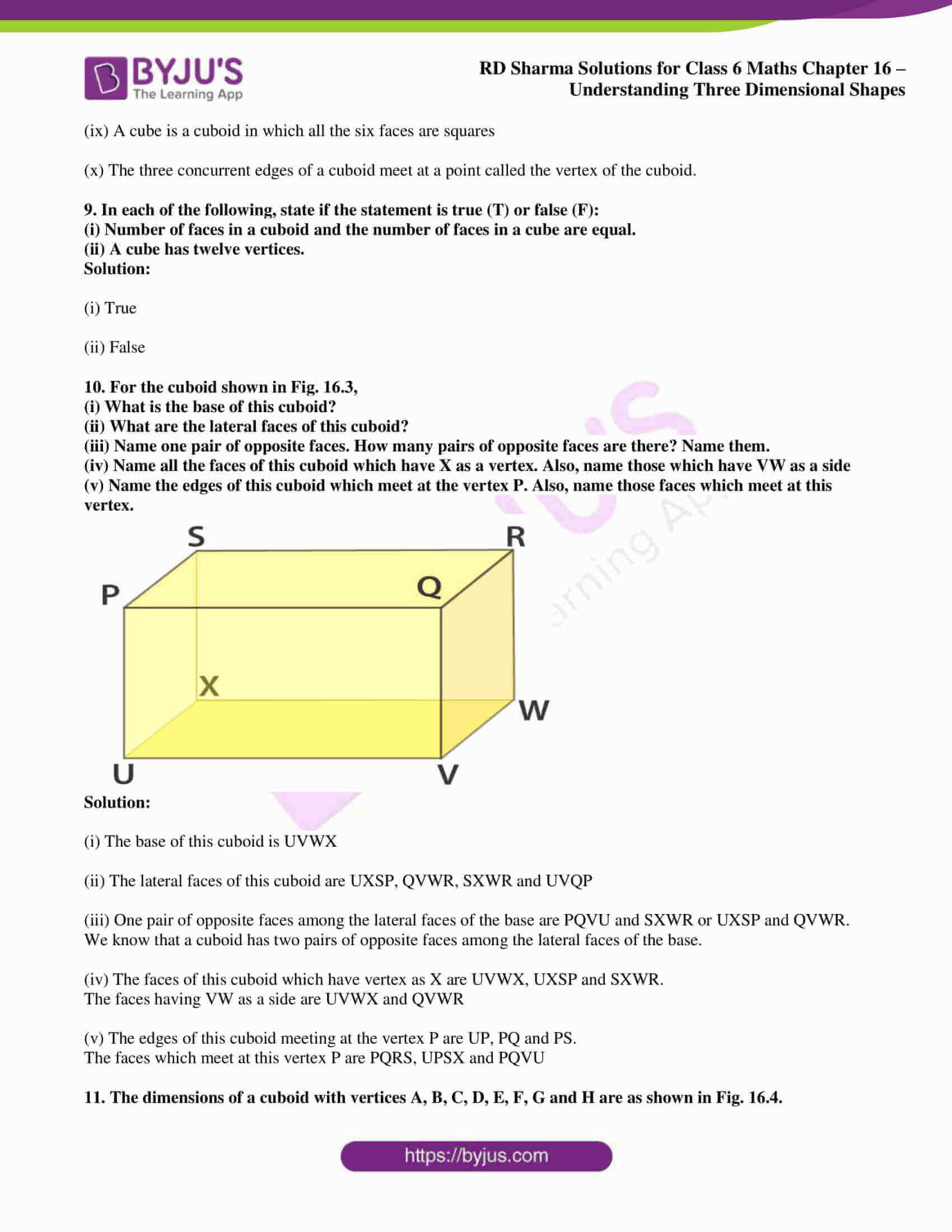 rd sharma solutions nov2020 class 6 maths chapter 16 exercise 1 5