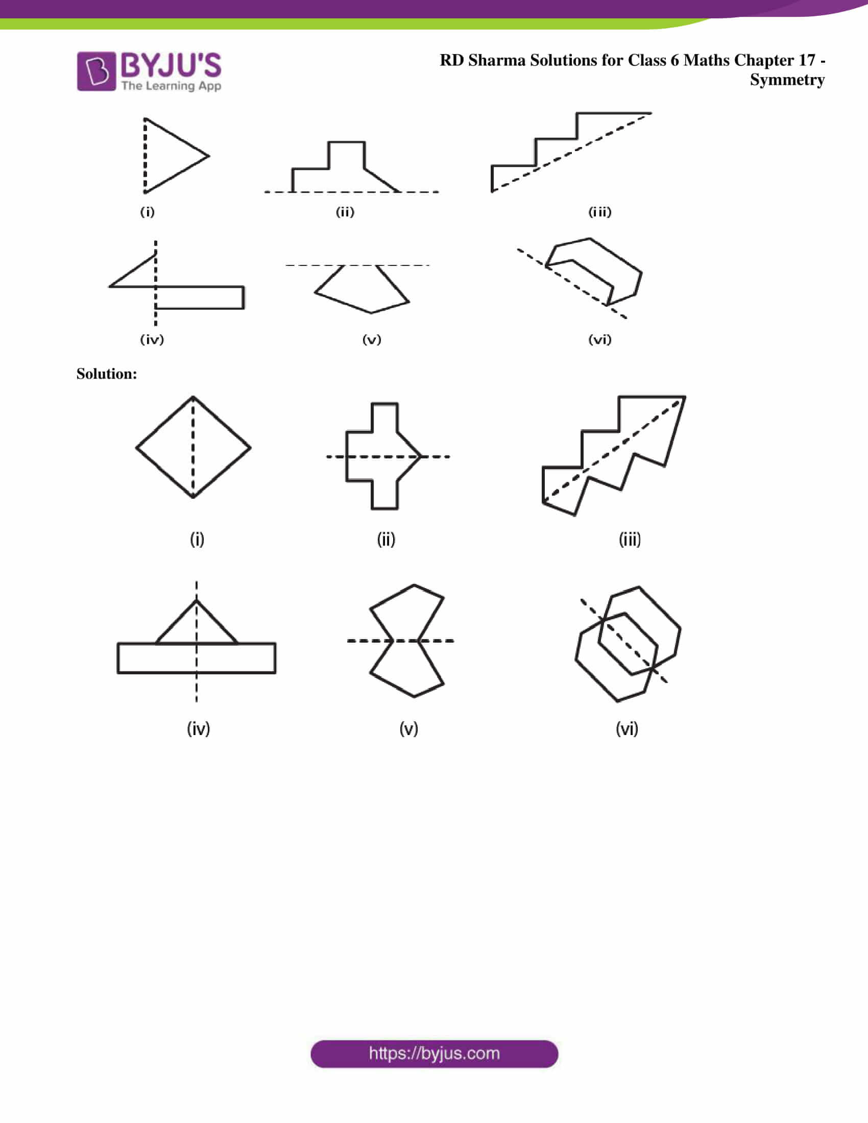 rd sharma solutions nov2020 class 6 maths chapter 17 exercise 1 2