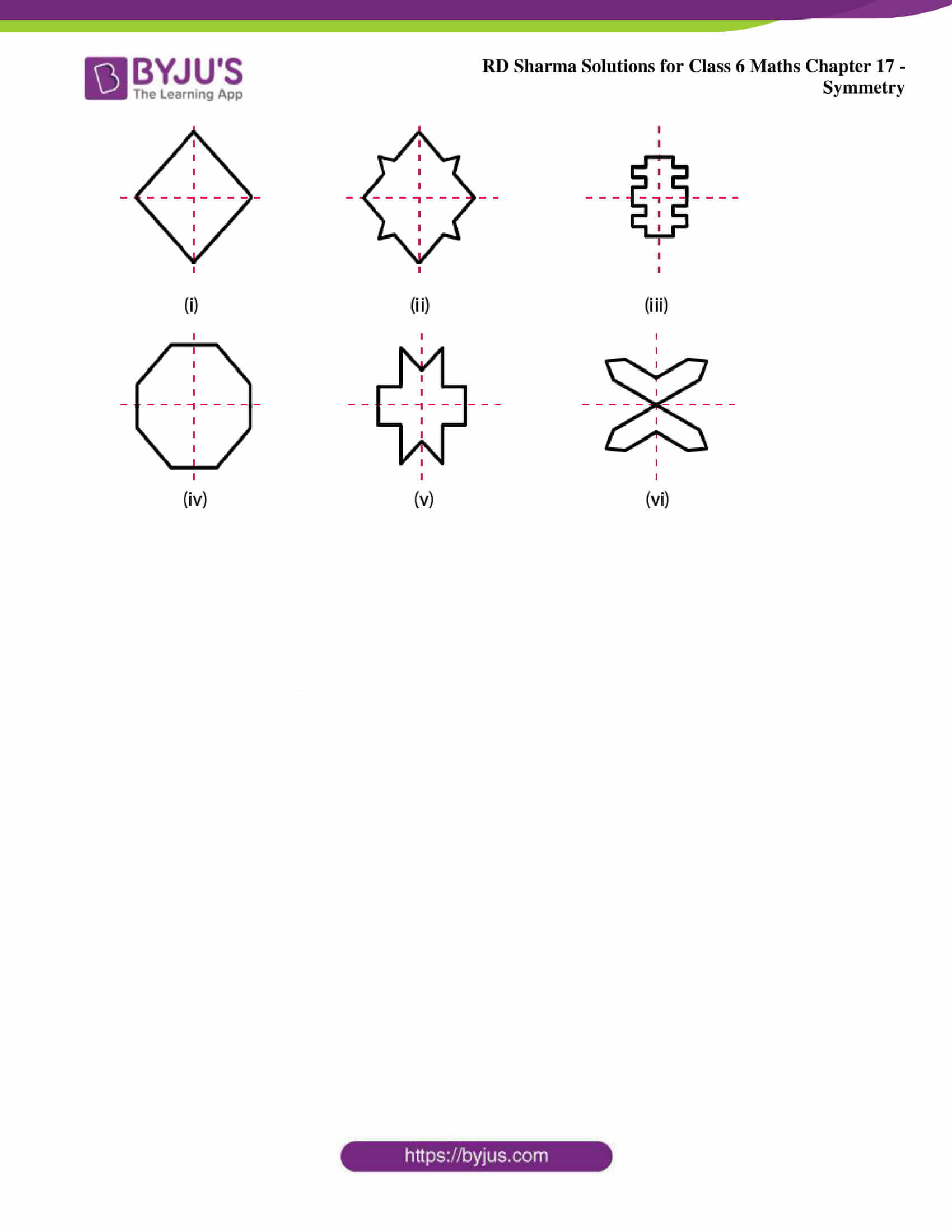 rd sharma solutions nov2020 class 6 maths chapter 17 exercise 2 2
