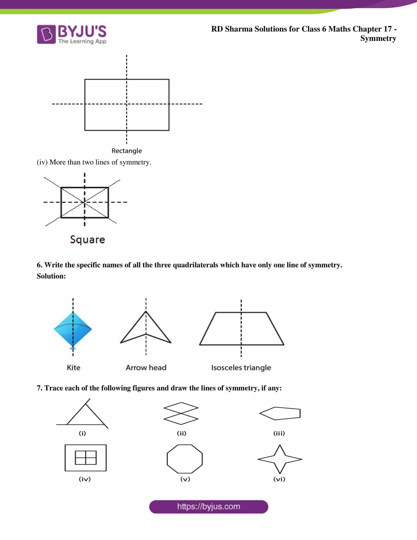 rd sharma solutions nov2020 class 6 maths chapter 17 exercise 3 10