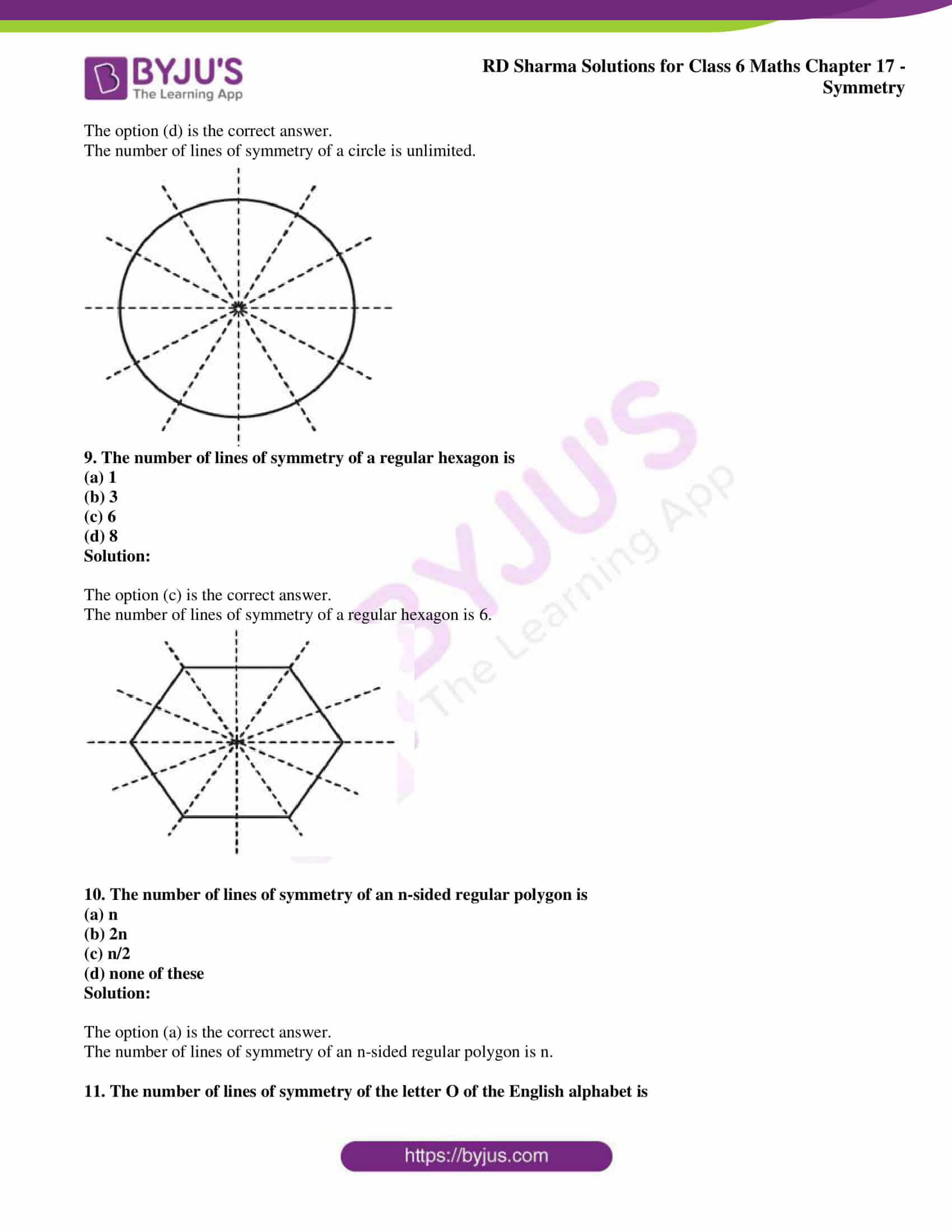 rd sharma solutions nov2020 class 6 maths chapter 17 exercise obj 4