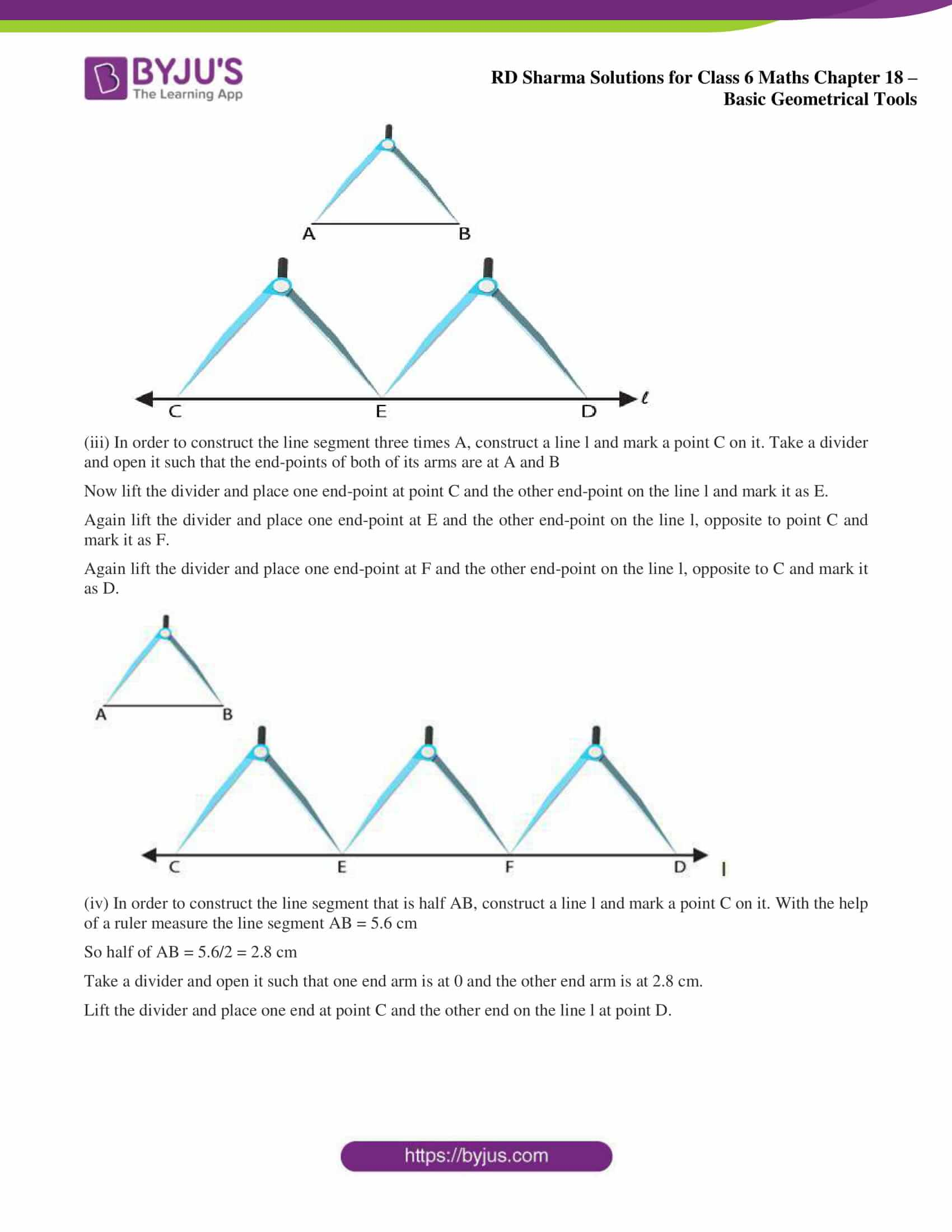 rd sharma solutions nov2020 class 6 maths chapter 18 exercise 2 2