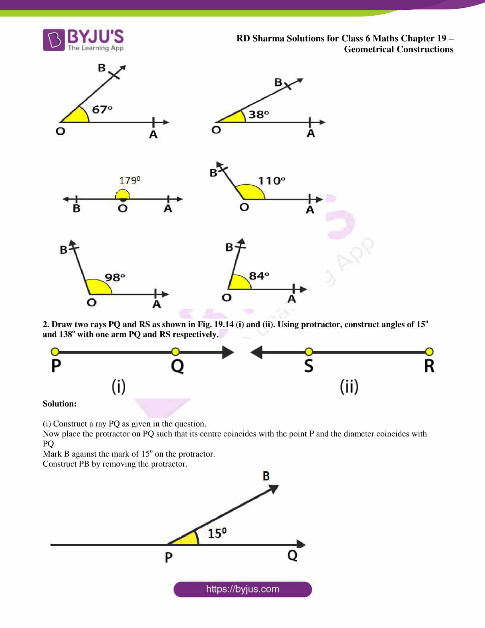 rd sharma solutions nov2020 class 6 maths chapter 19 exercise 4 2