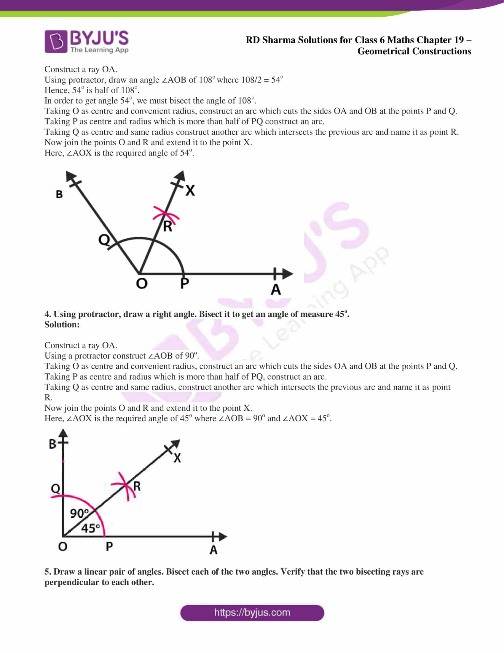 rd sharma solutions nov2020 class 6 maths chapter 19 exercise 5 2