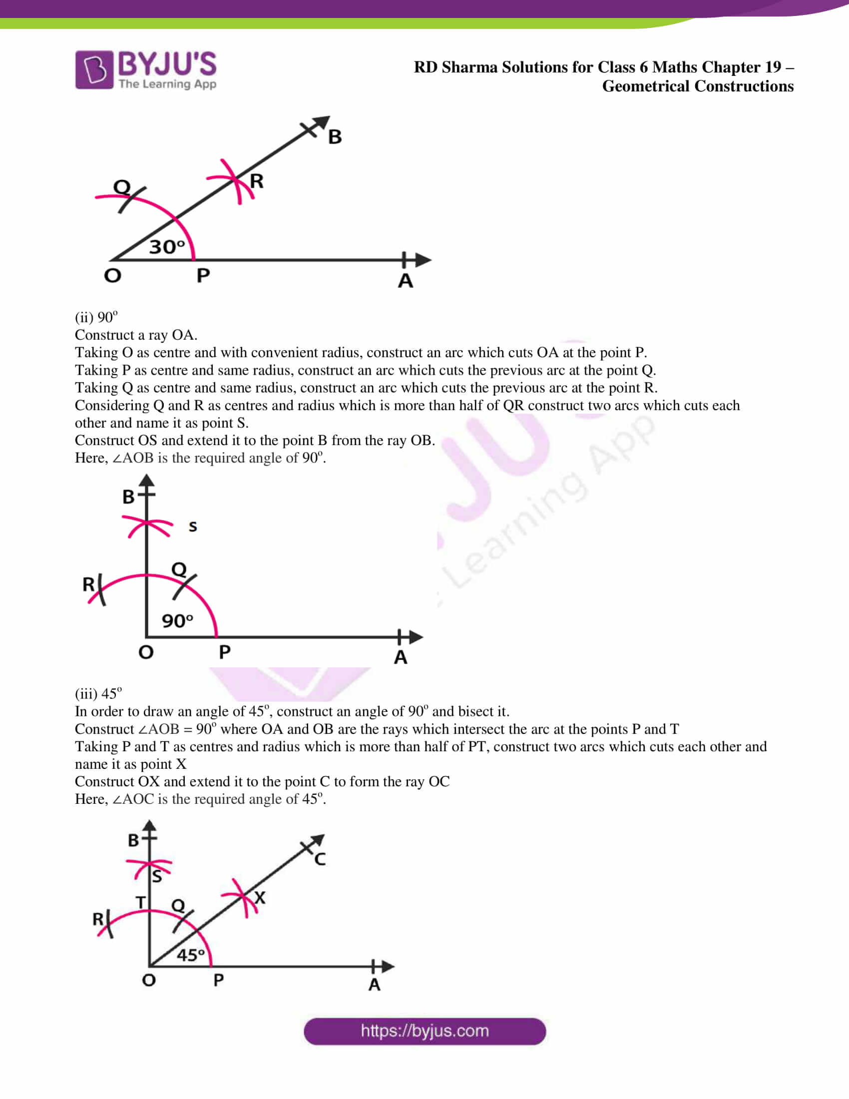 rd sharma solutions nov2020 class 6 maths chapter 19 exercise 6 2