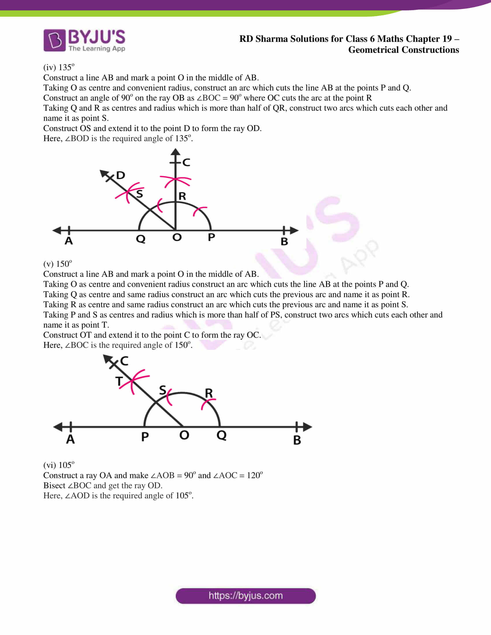 rd sharma solutions nov2020 class 6 maths chapter 19 exercise 6 3