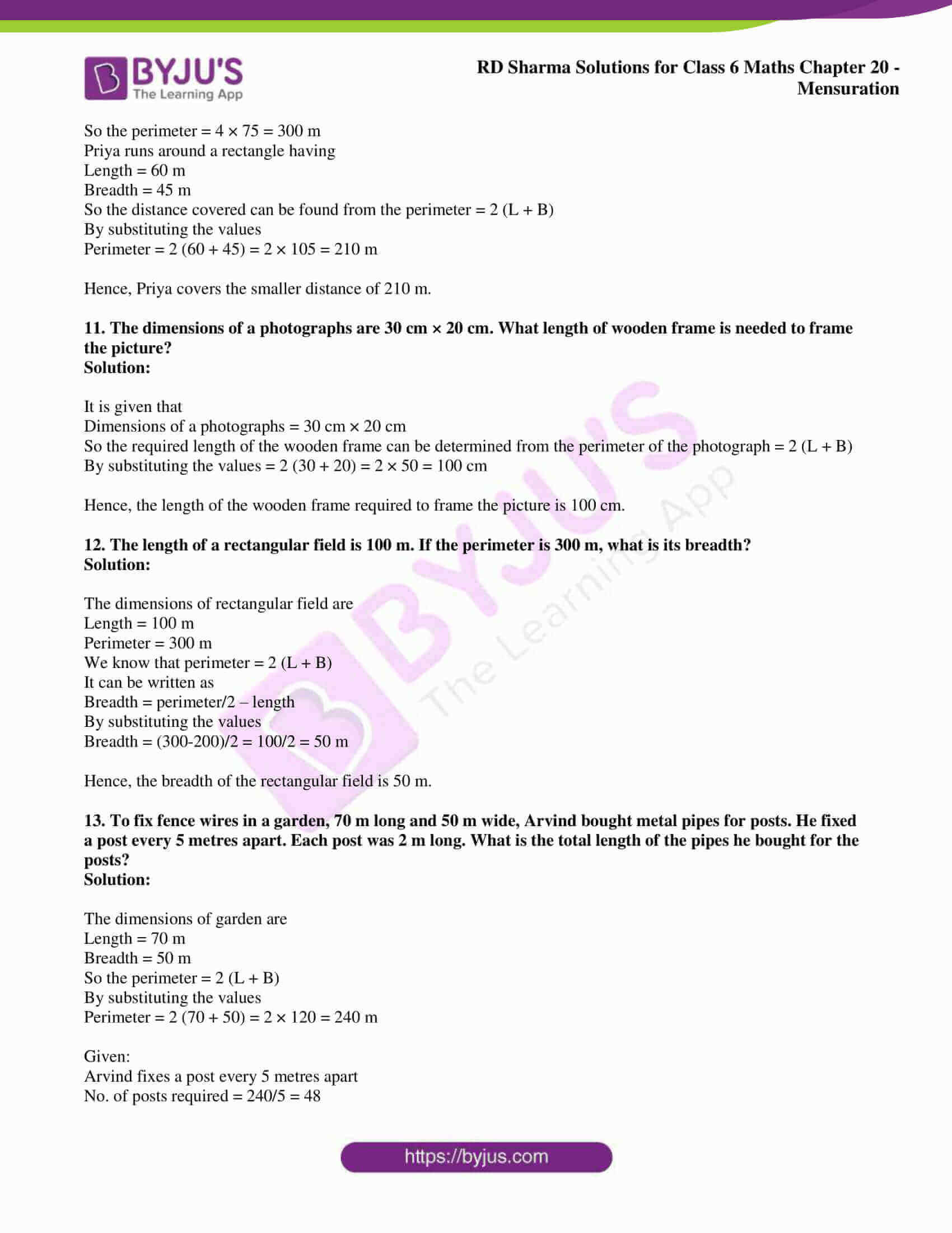 rd sharma solutions nov2020 class 6 maths chapter 20 exercise 2 4