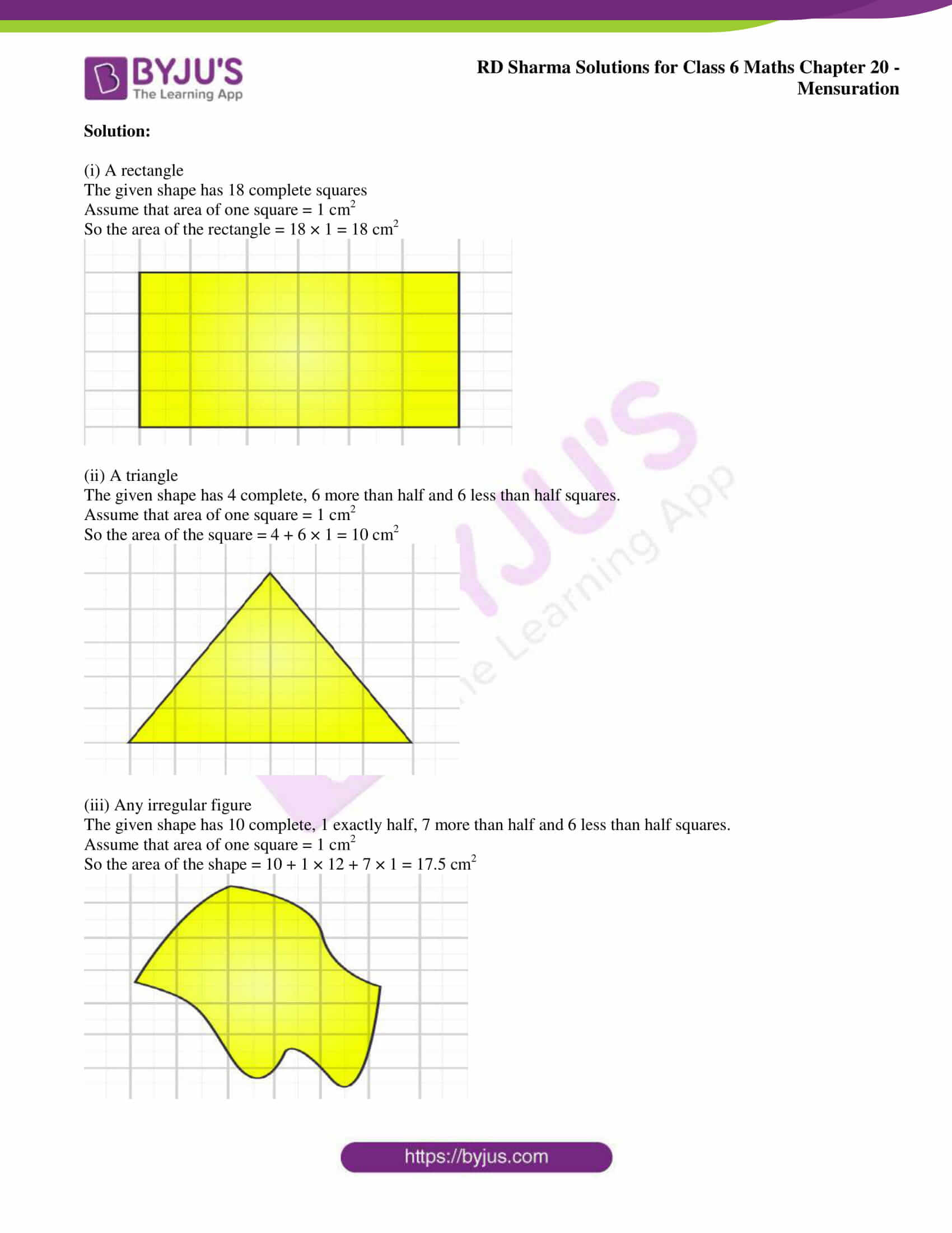 rd sharma solutions nov2020 class 6 maths chapter 20 exercise 3 2