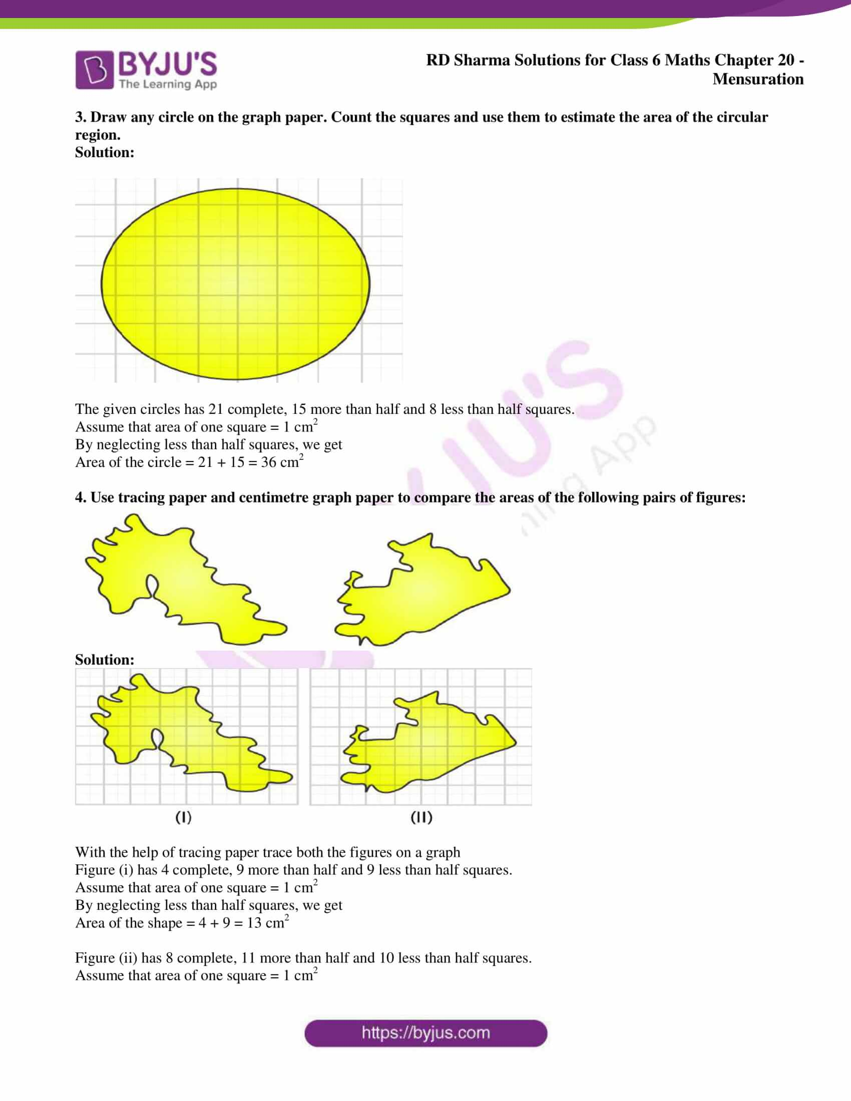 rd sharma solutions nov2020 class 6 maths chapter 20 exercise 3 3
