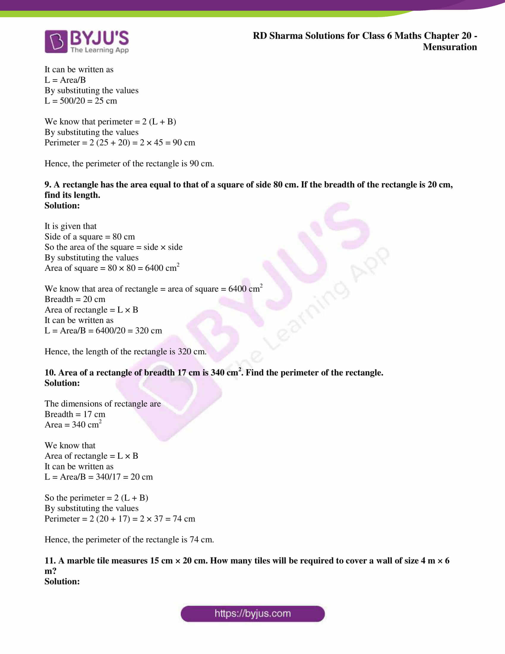 rd sharma solutions nov2020 class 6 maths chapter 20 exercise 4 4