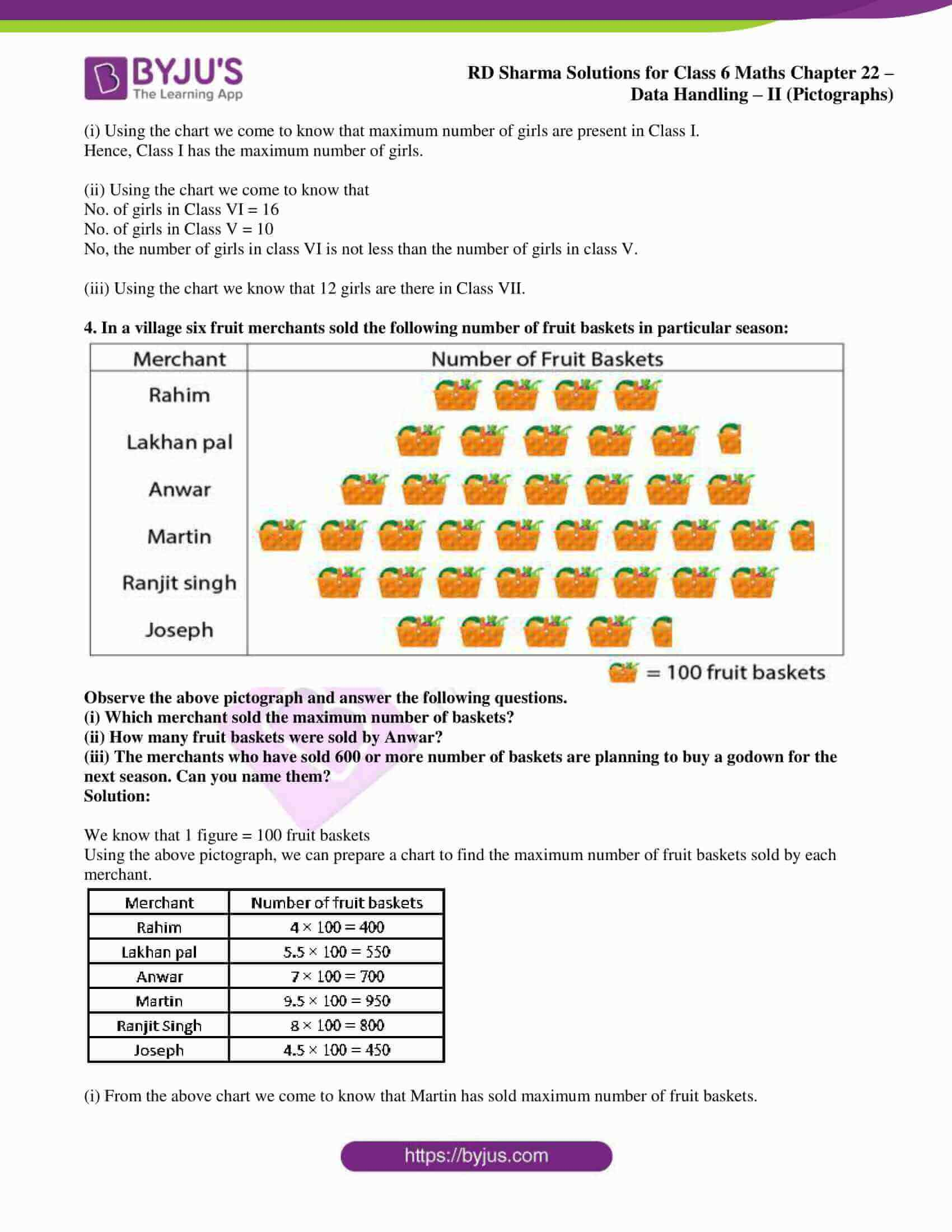 rd sharma solutions nov2020 class 6 maths chapter 22 exercise 1 4