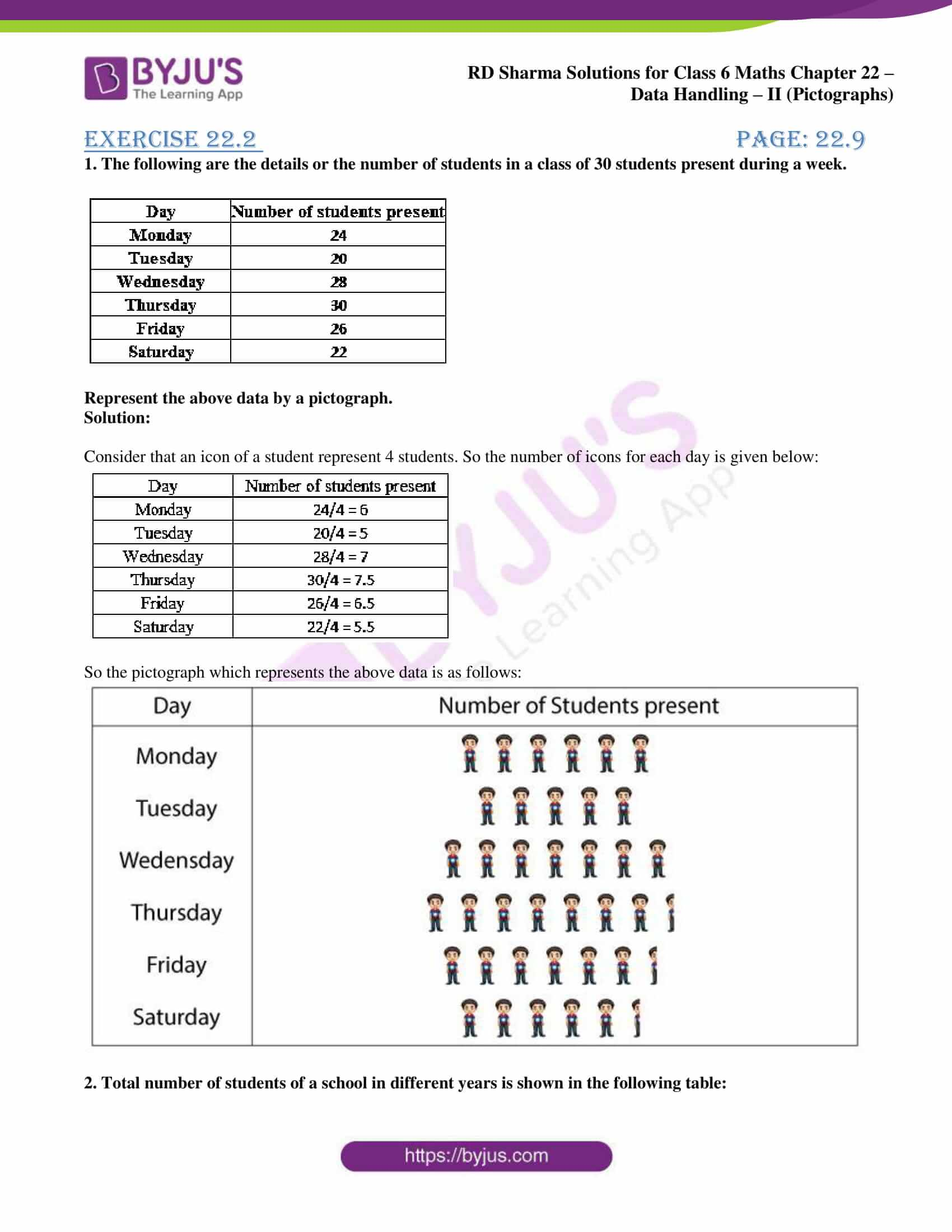 rd sharma solutions nov2020 class 6 maths chapter 22 exercise 2 1