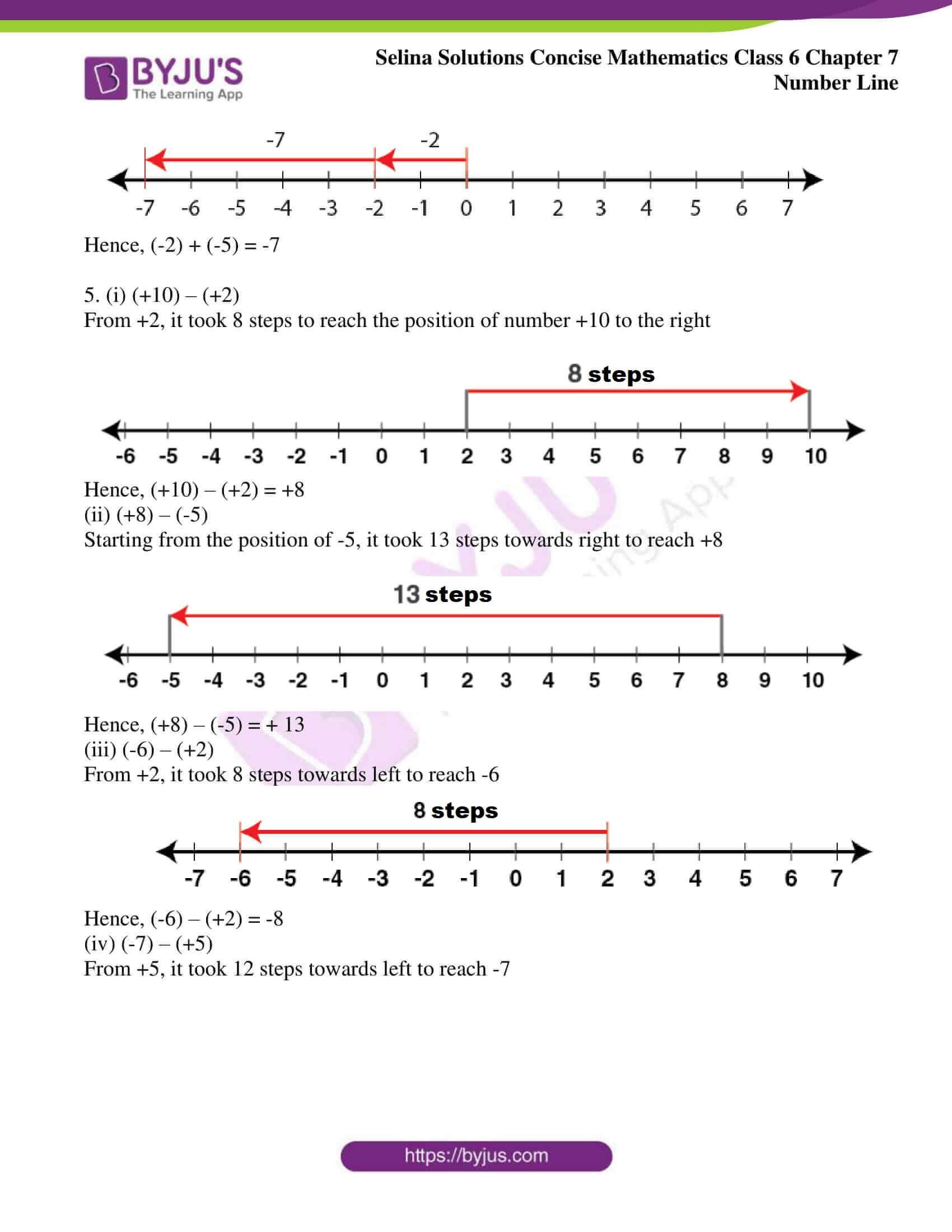 selina sol concise mathematics class 6 ch 7 ex b 4