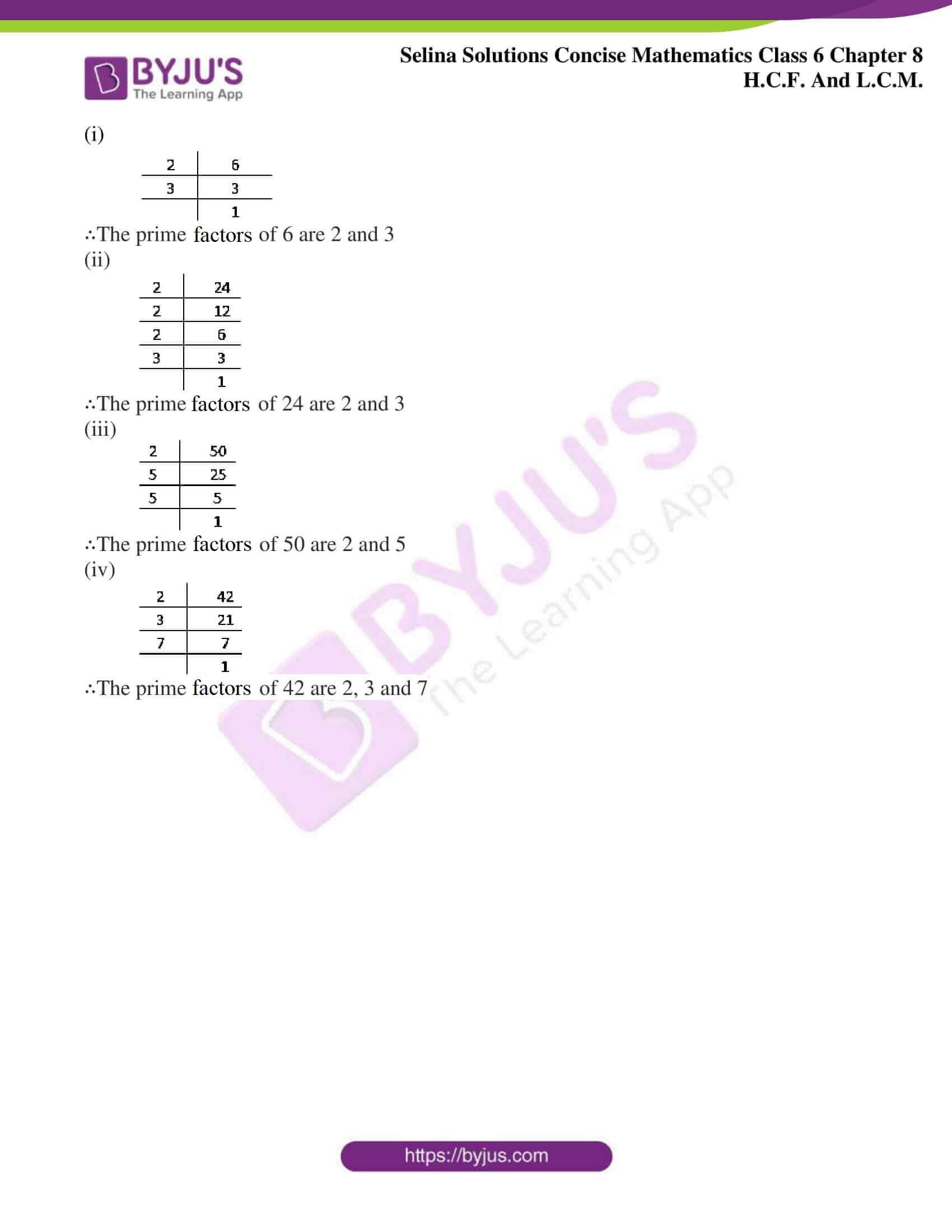 selina sol concise mathematics class 6 ch 8 ex a 3