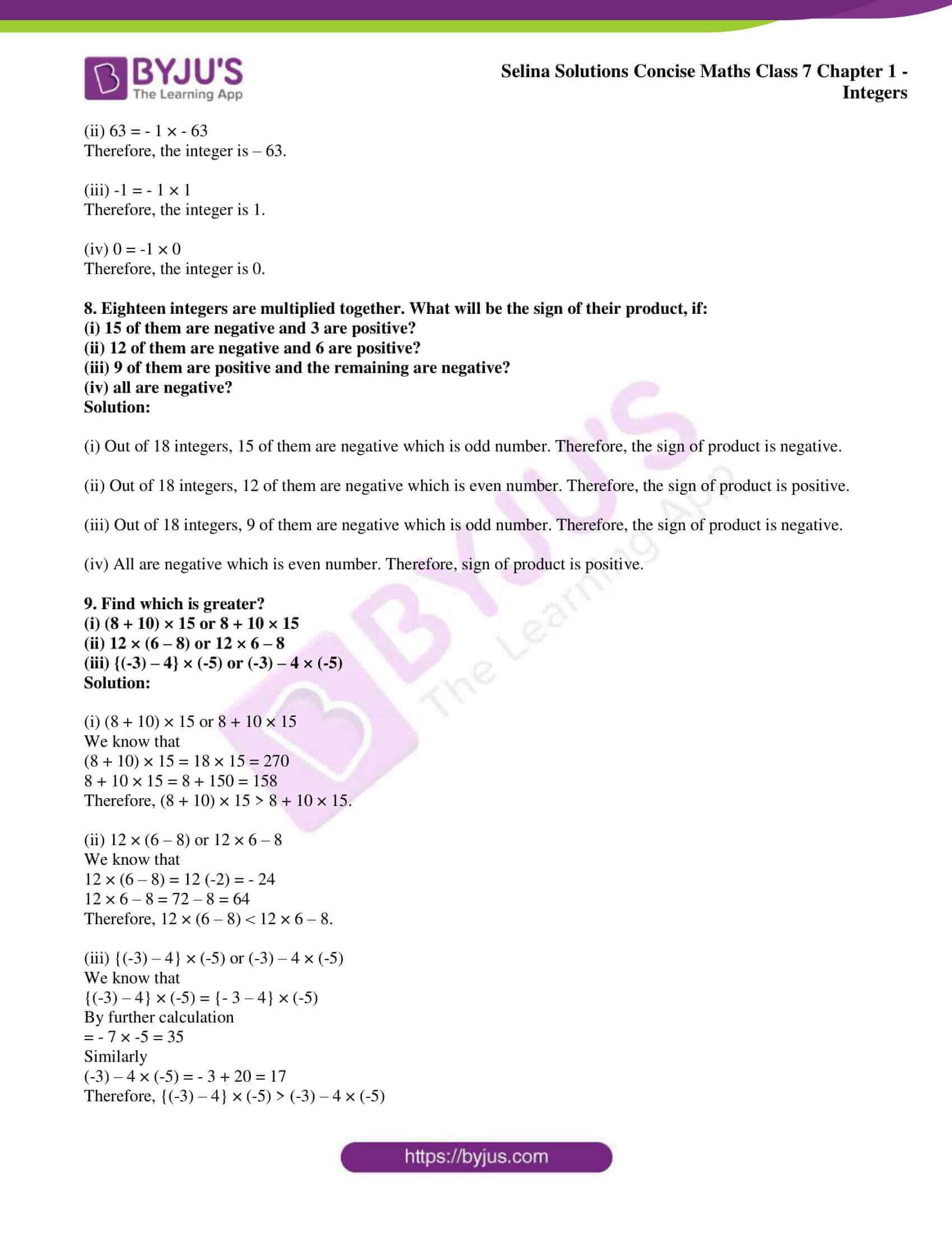 selina sol concise maths class 7 ch1 ex 1a 5