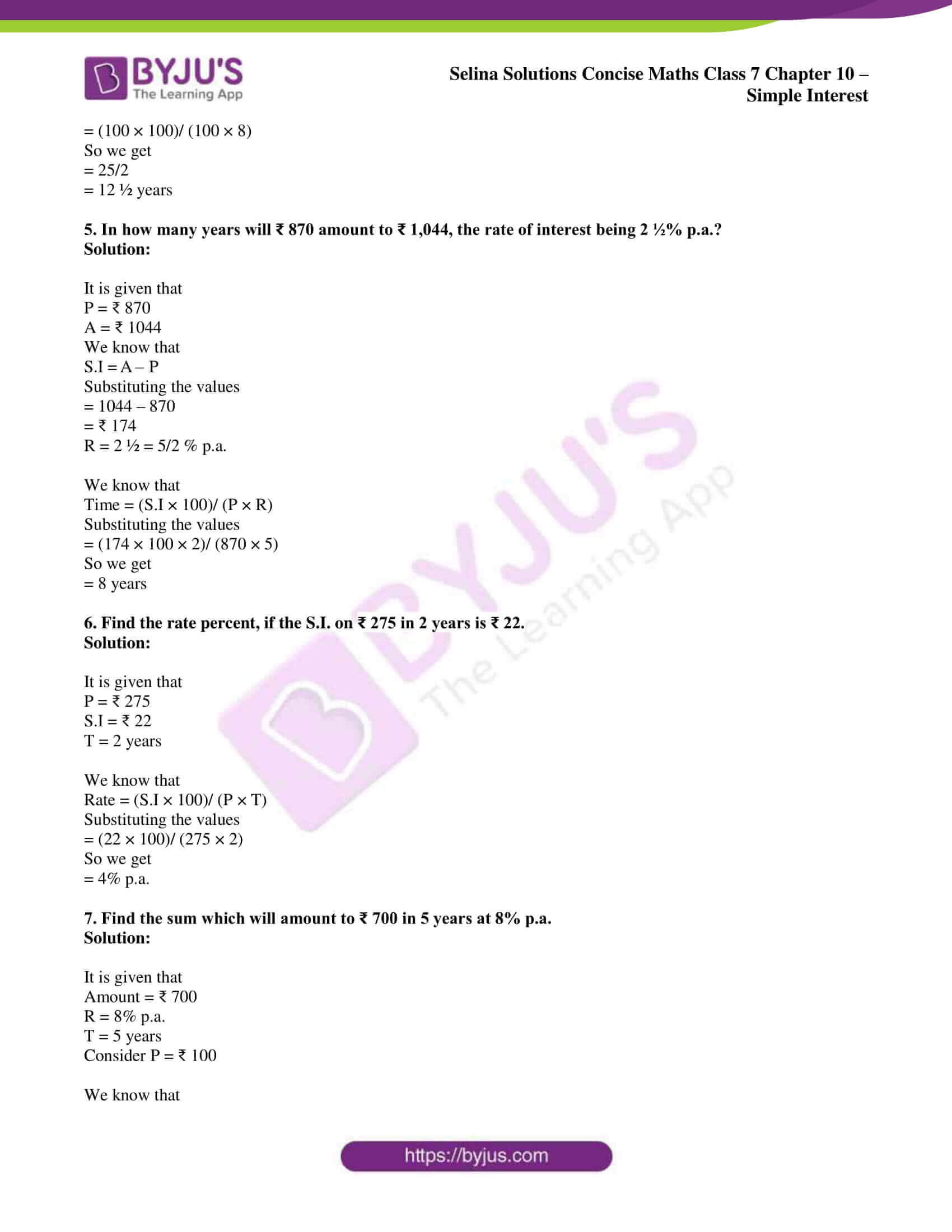selina sol concise maths class 7 ch10 05