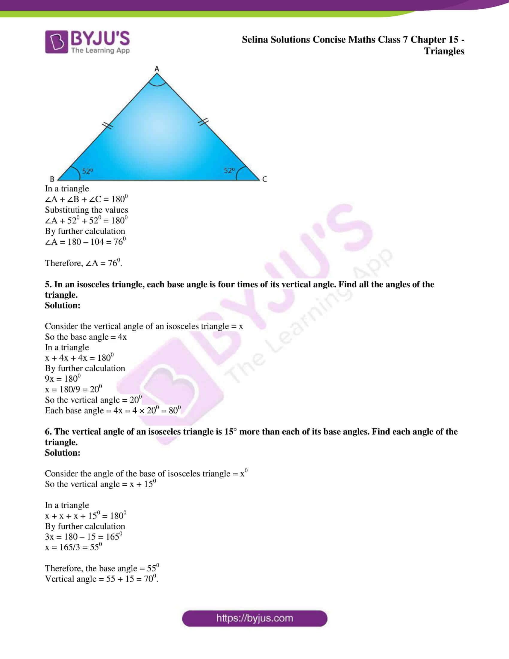 selina sol concise maths class 7 chapter 15 ex b 06