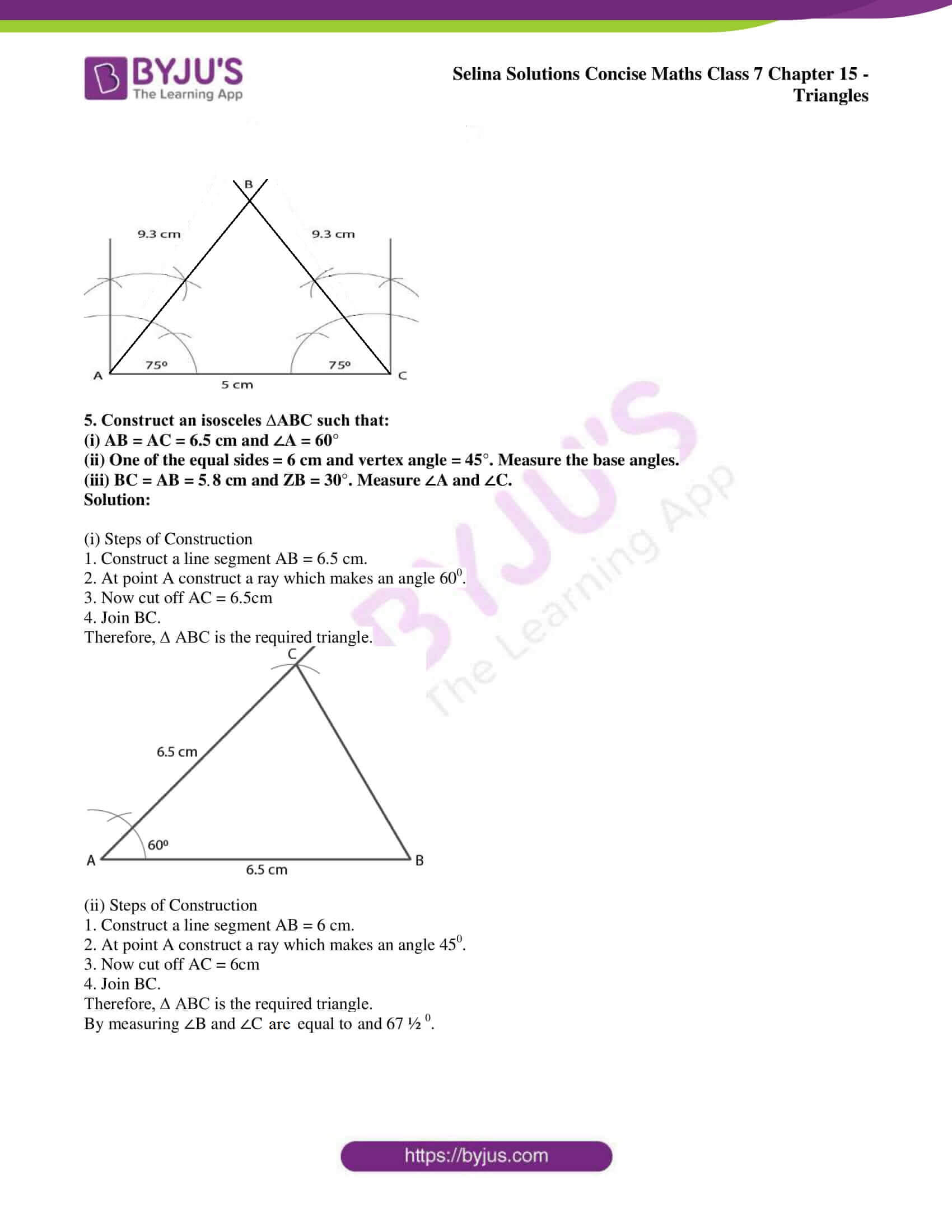 selina sol concise maths class 7 chapter 15 ex c 06