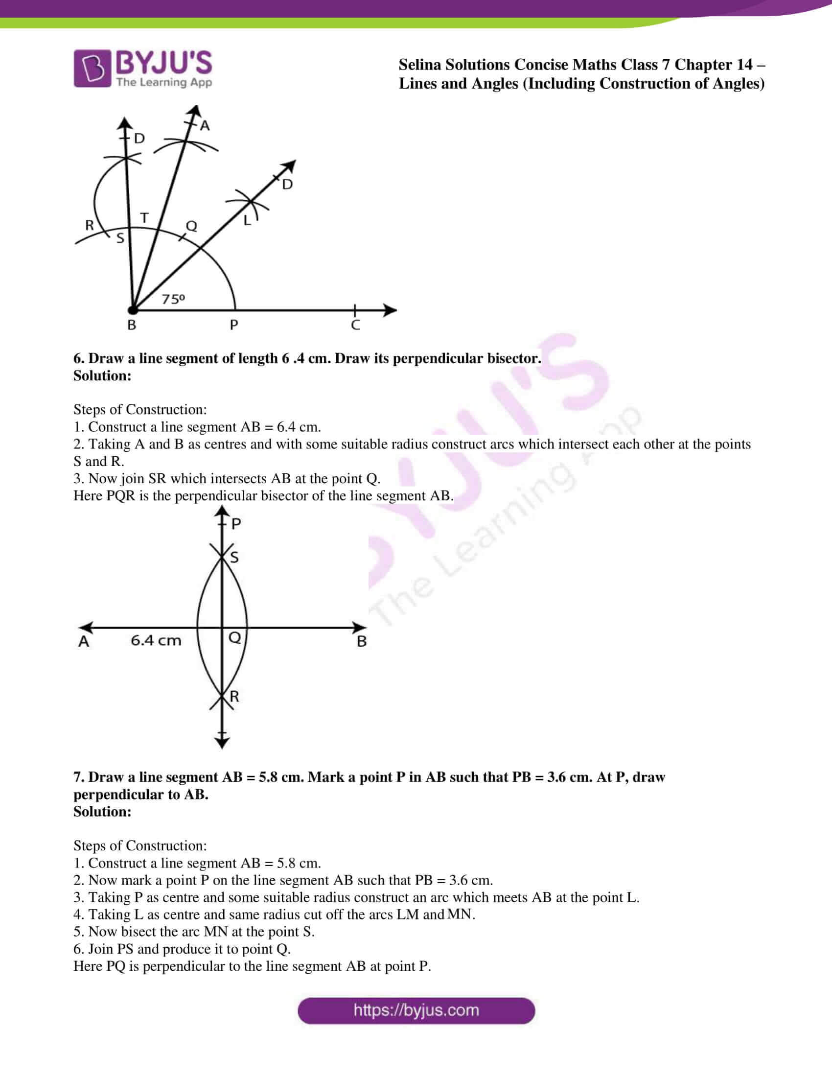 selina solution concise maths class 7 ch 14c 5