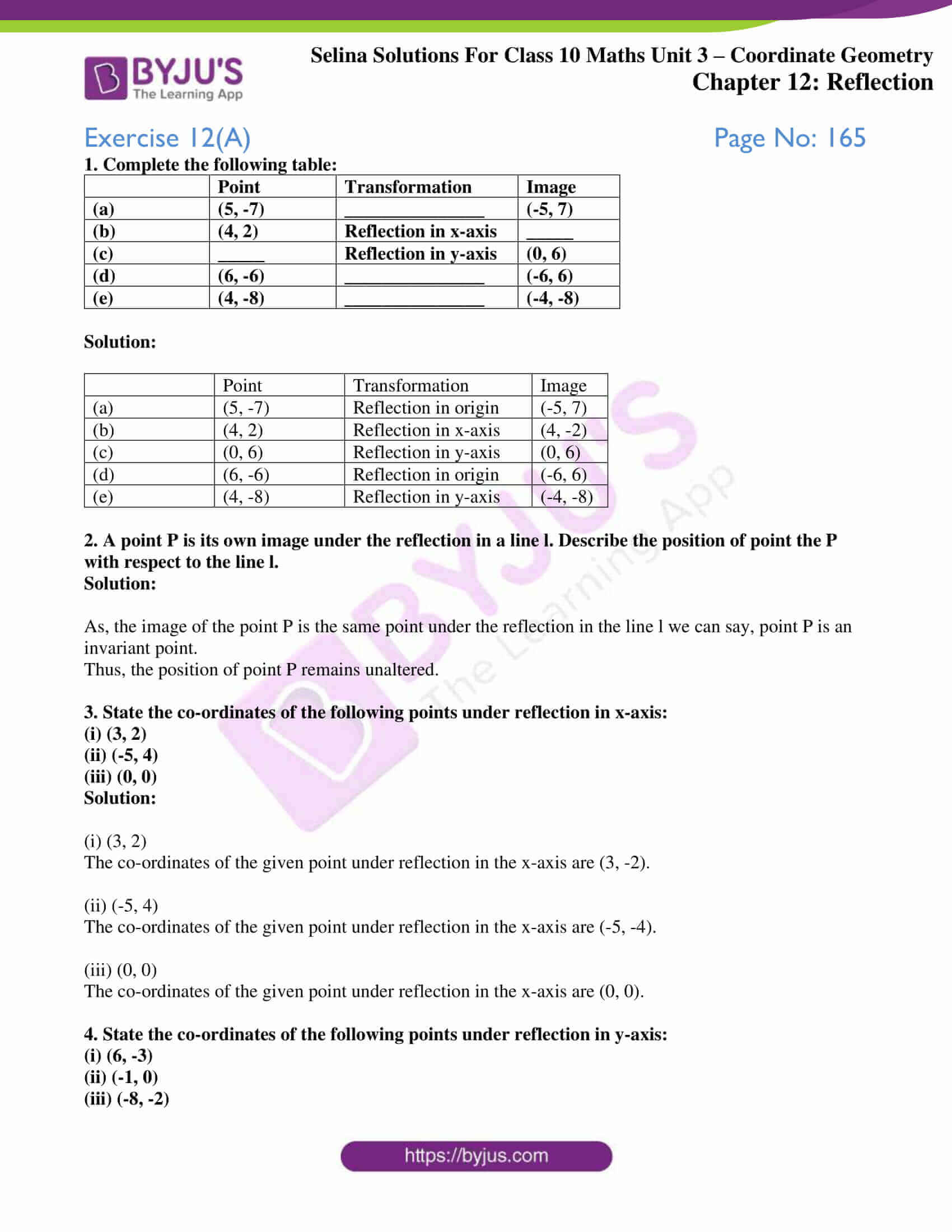 selina solution concise maths class 10 chapter 12 ex a 1