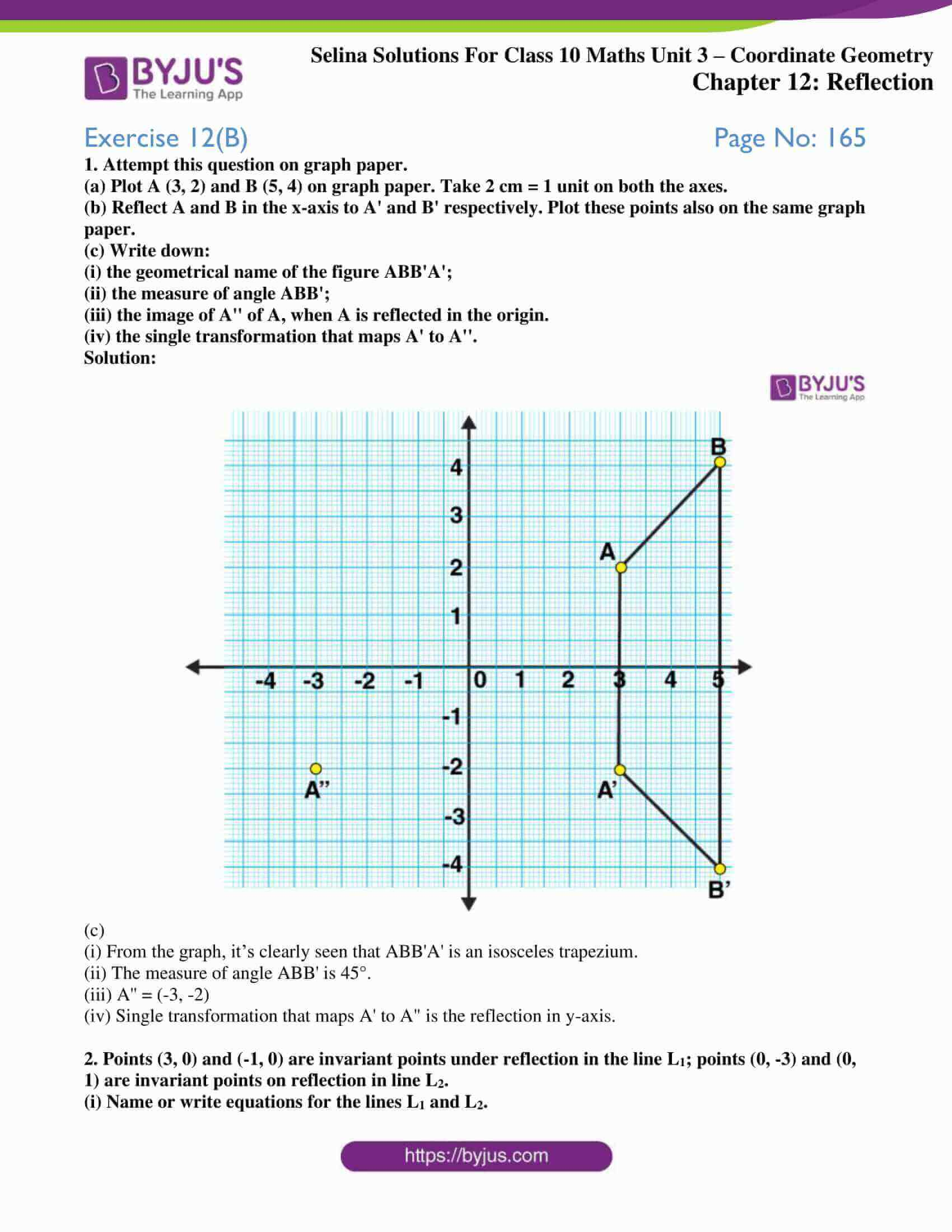 selina solution concise maths class 10 chapter 12 ex b 1