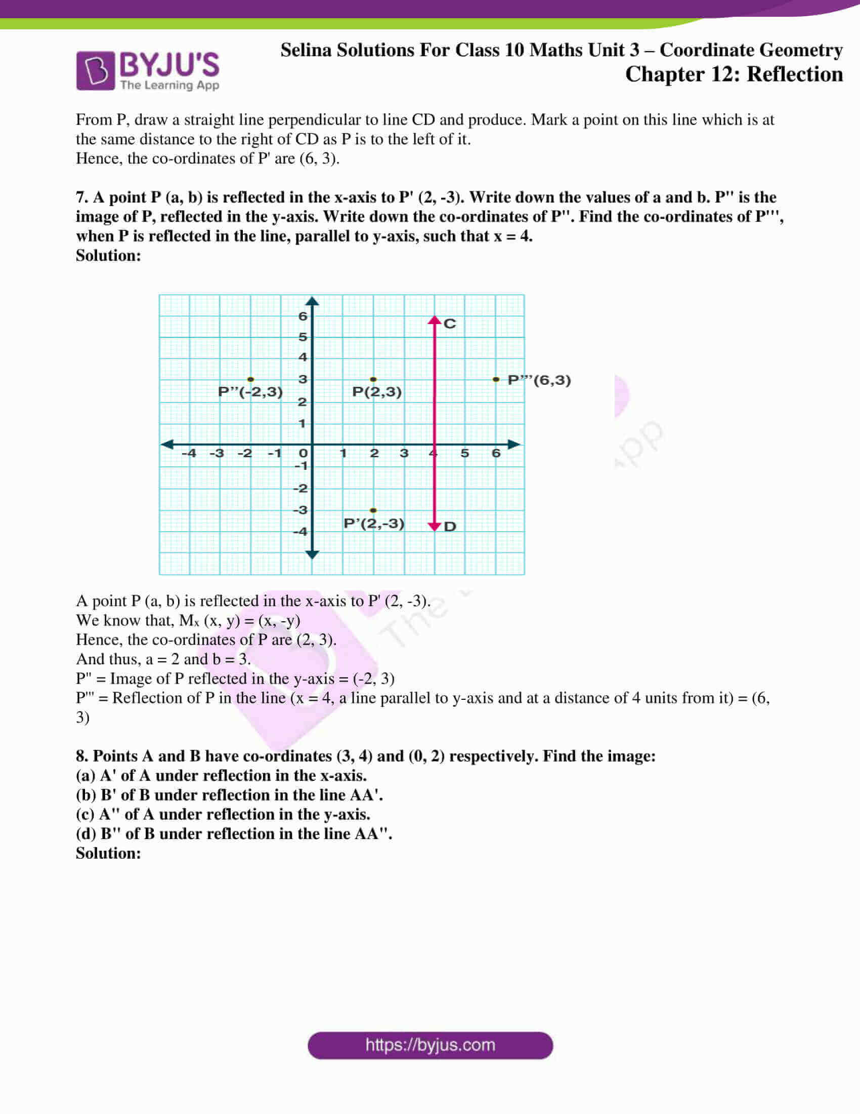 selina solution concise maths class 10 chapter 12 ex b 4