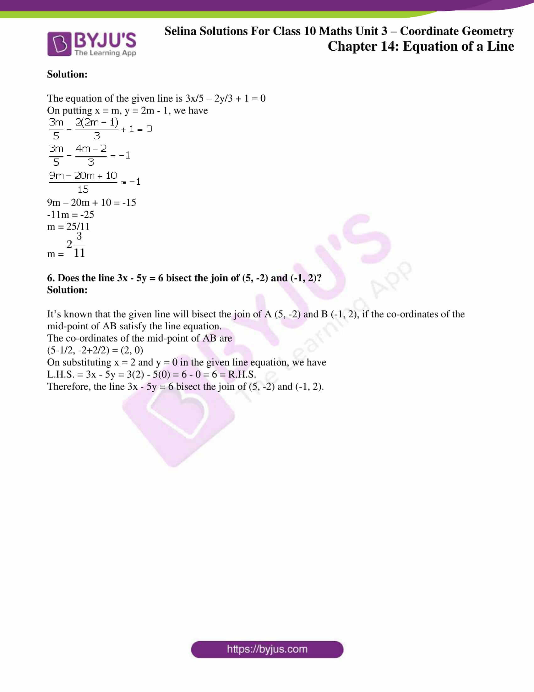 selina solution concise maths class 10 chapter 14 ex a 3
