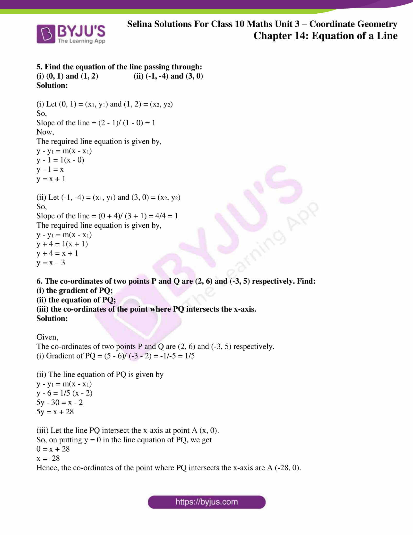 selina solution concise maths class 10 chapter 14 ex c 2