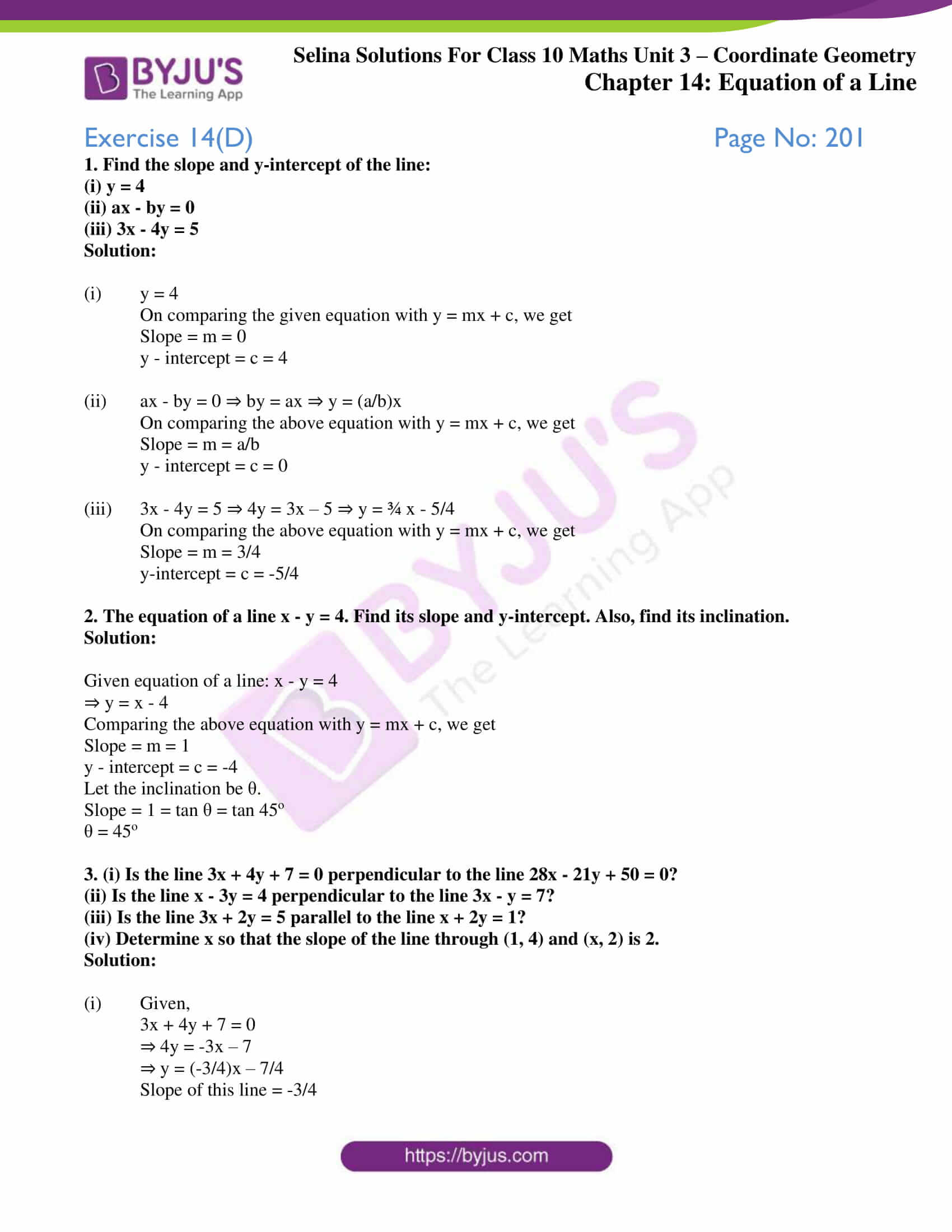 selina solution concise maths class 10 chapter 14 ex d 1