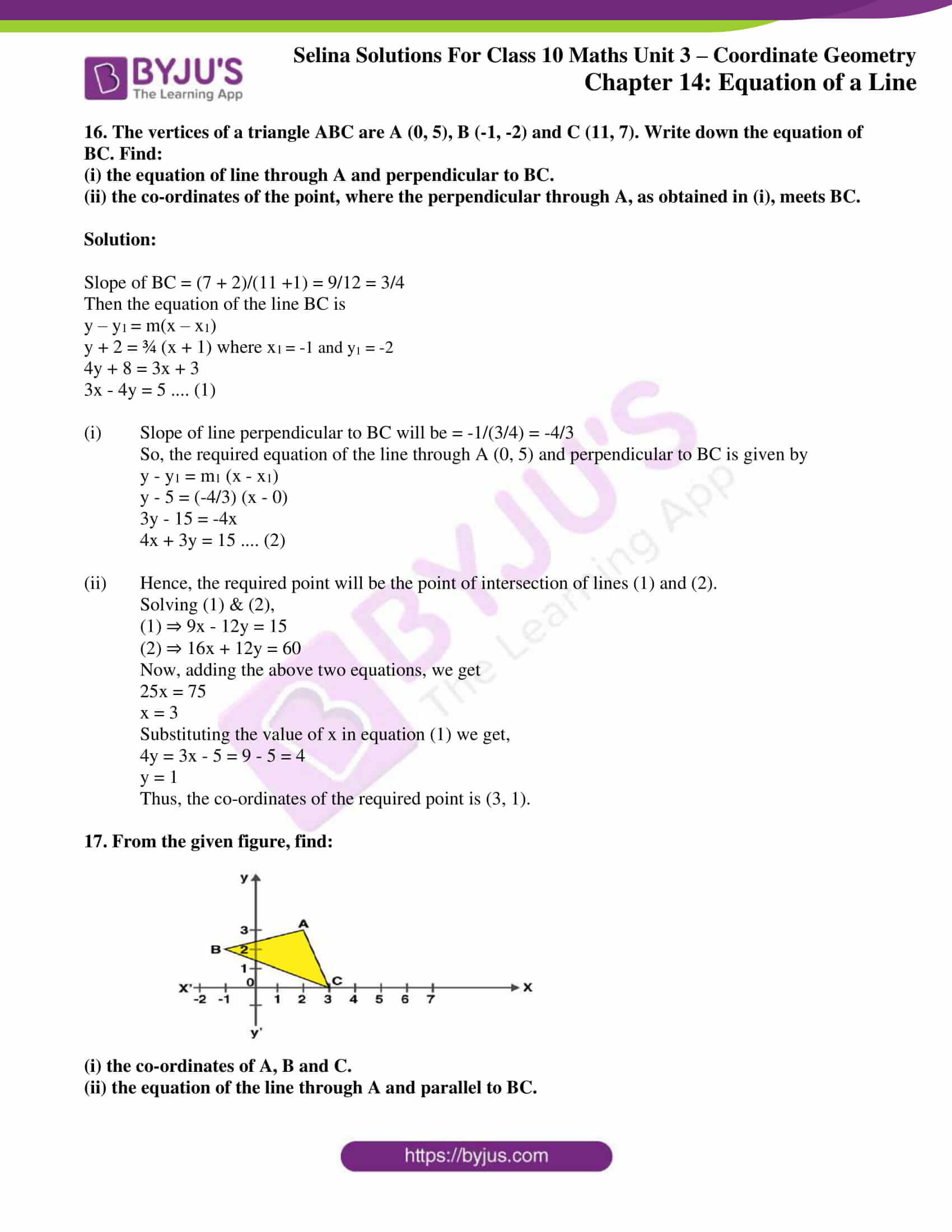 selina solution concise maths class 10 chapter 14 ex e 10