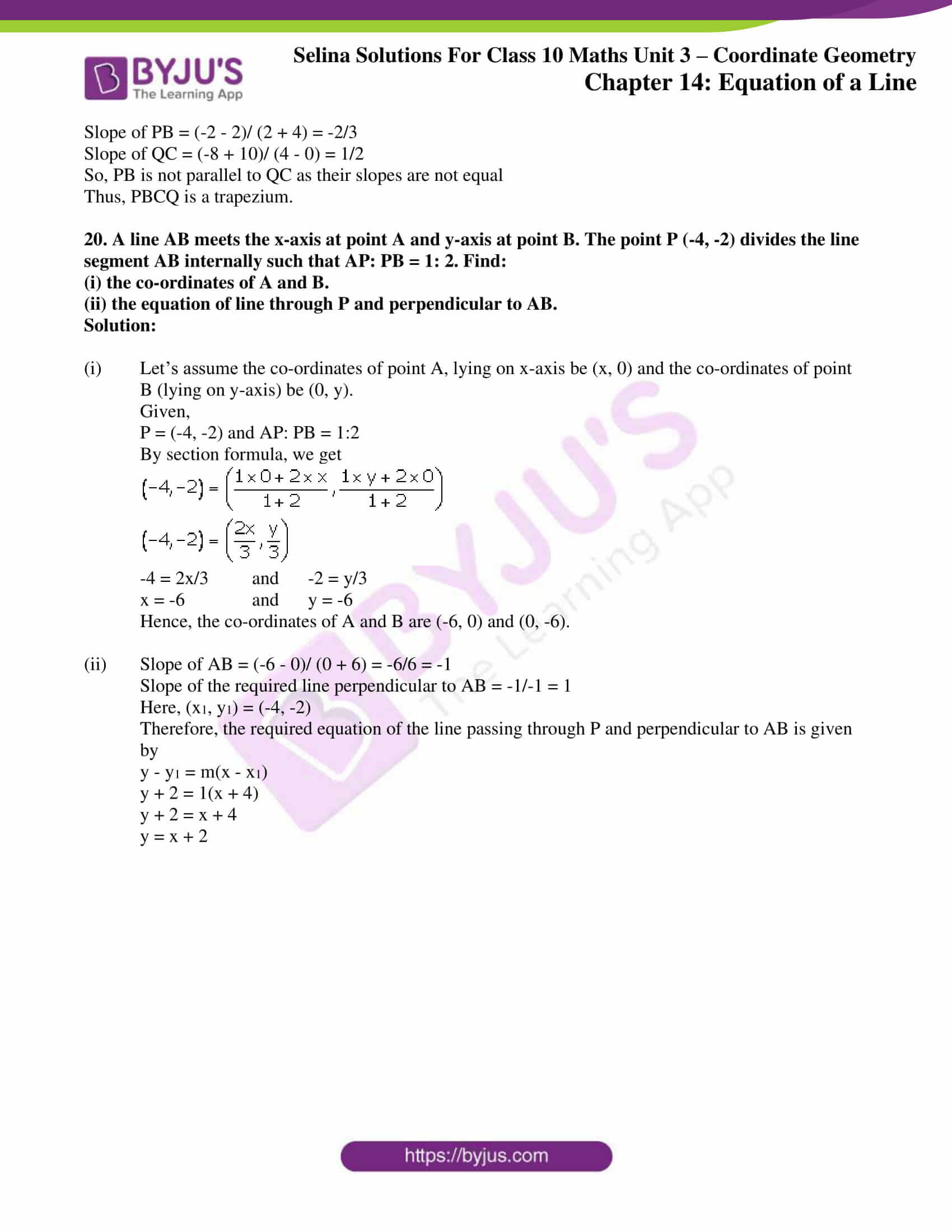 selina solution concise maths class 10 chapter 14 ex e 12