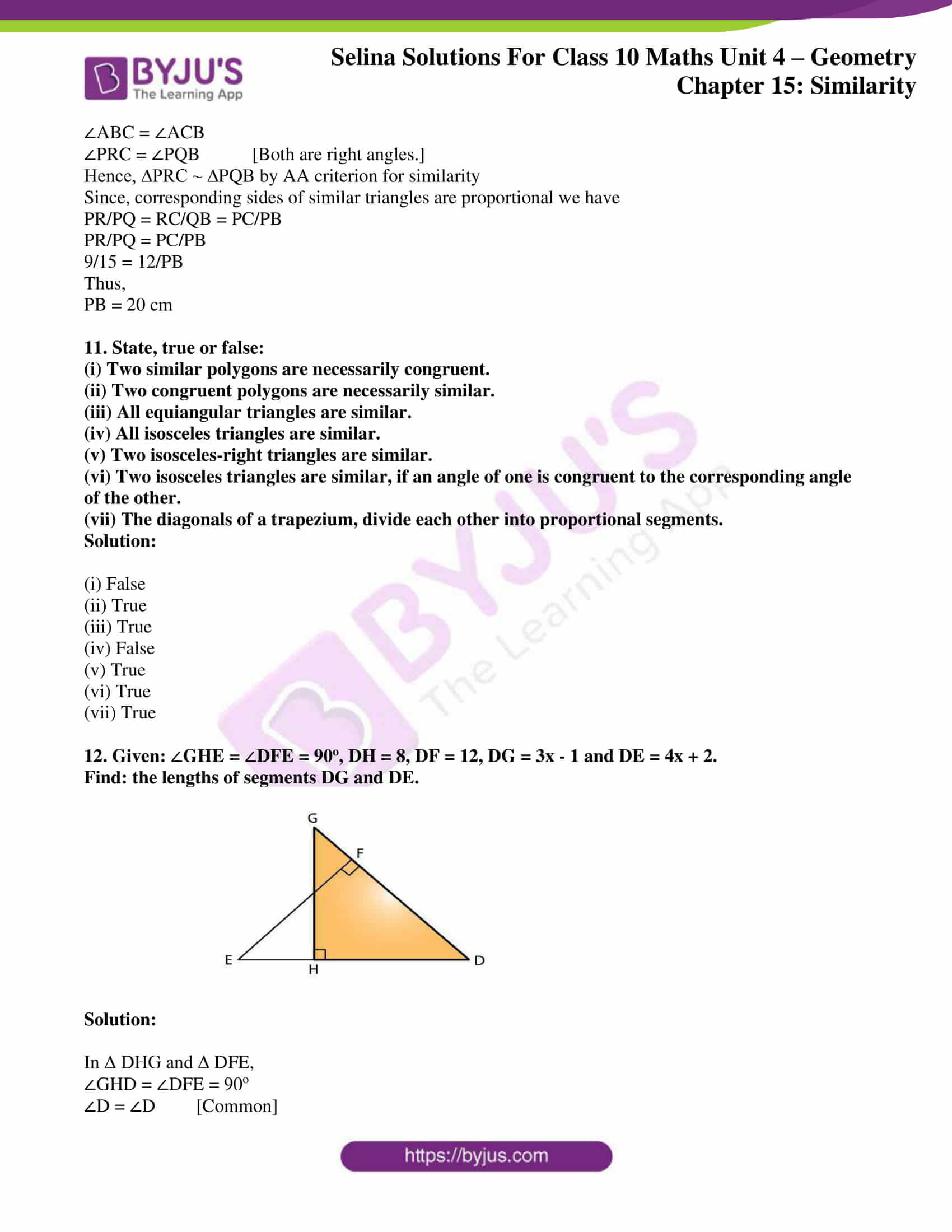 selina solution concise maths class 10 chapter 15 ex a 7