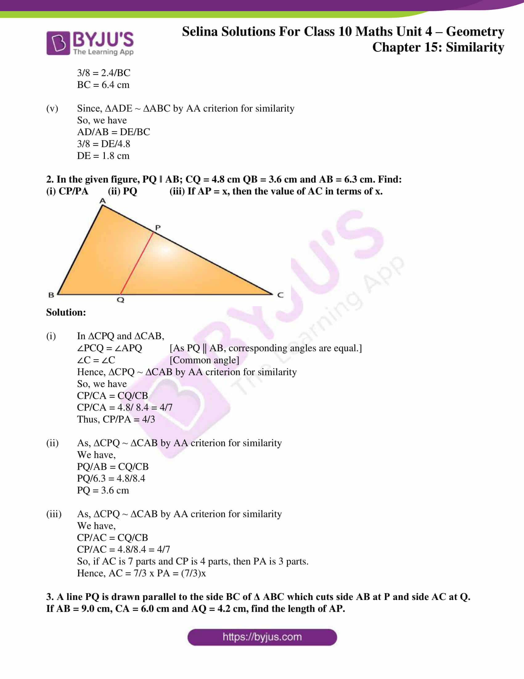 selina solution concise maths class 10 chapter 15 ex b 2