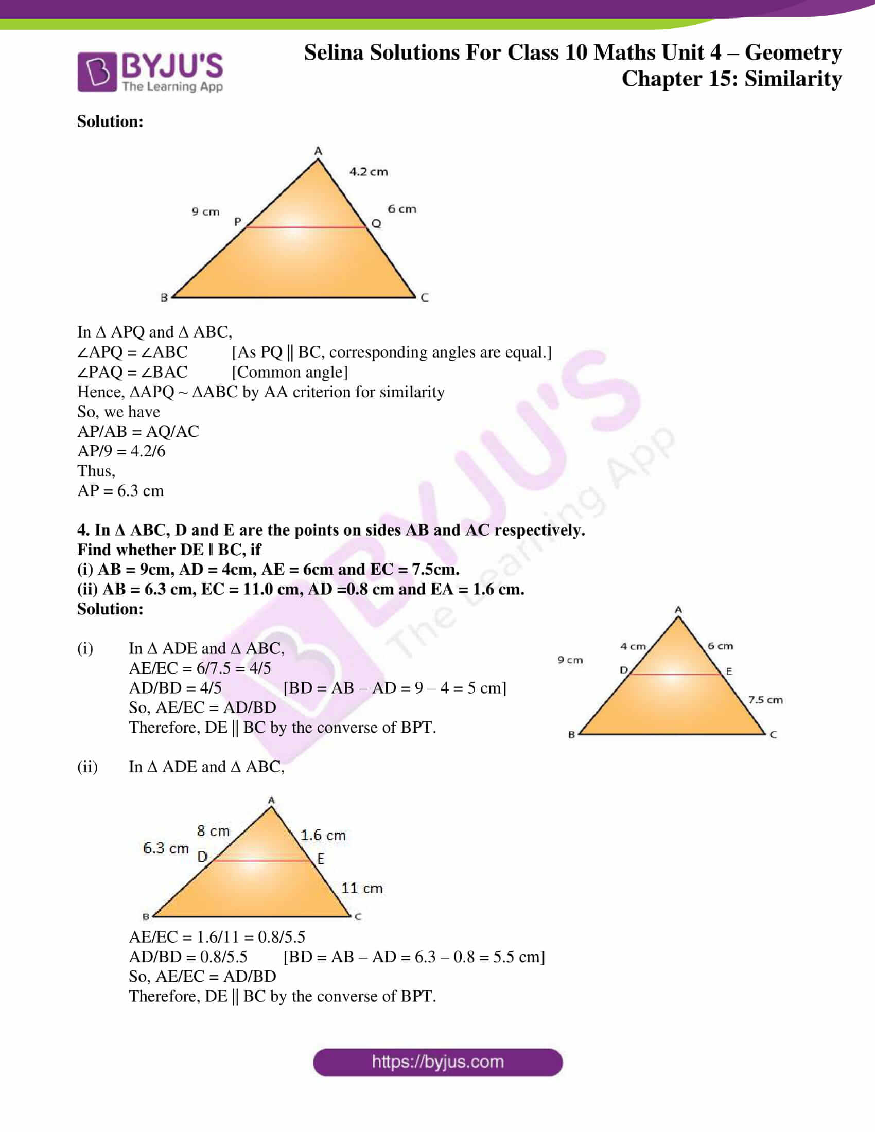 selina solution concise maths class 10 chapter 15 ex b 3