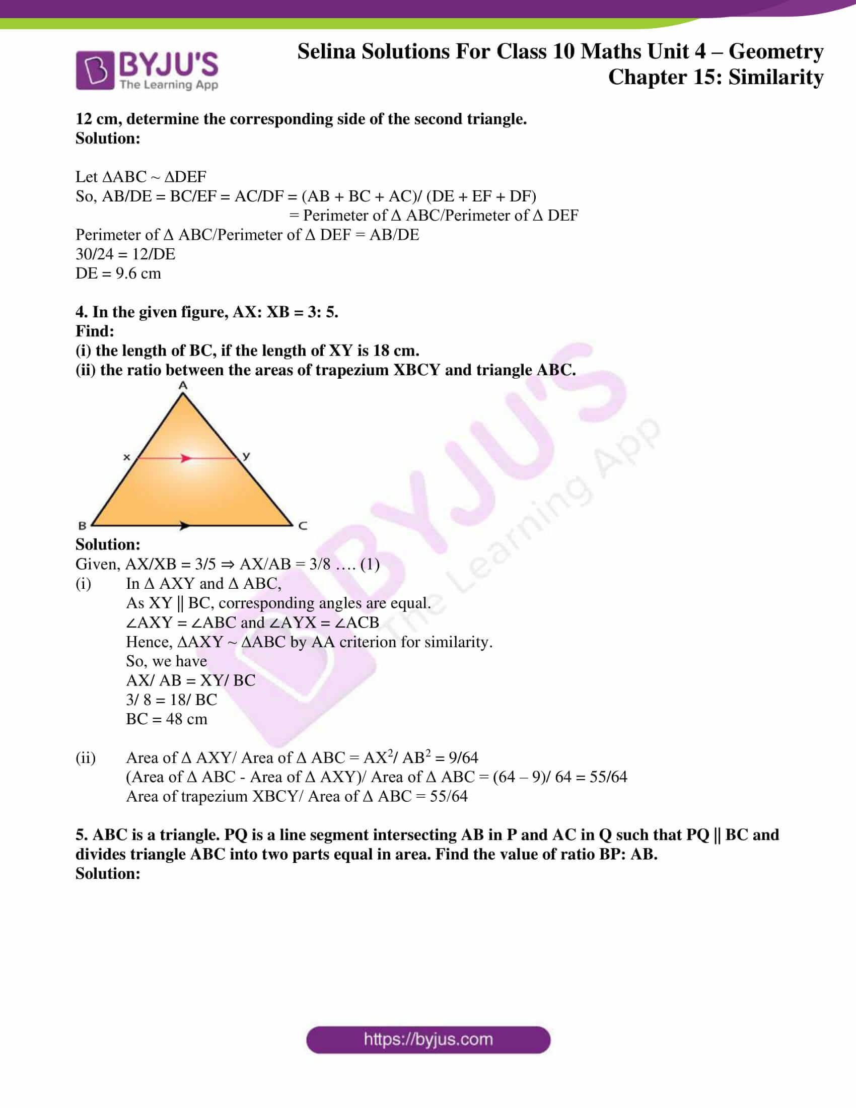 selina solution concise maths class 10 chapter 15 ex c 2