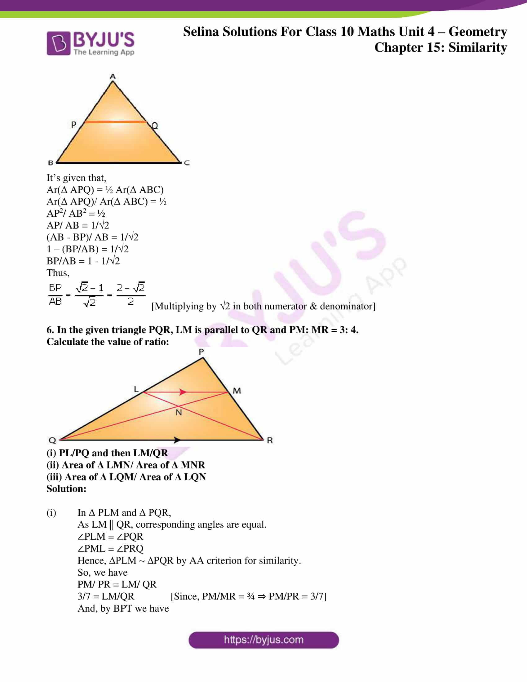 selina solution concise maths class 10 chapter 15 ex c 3