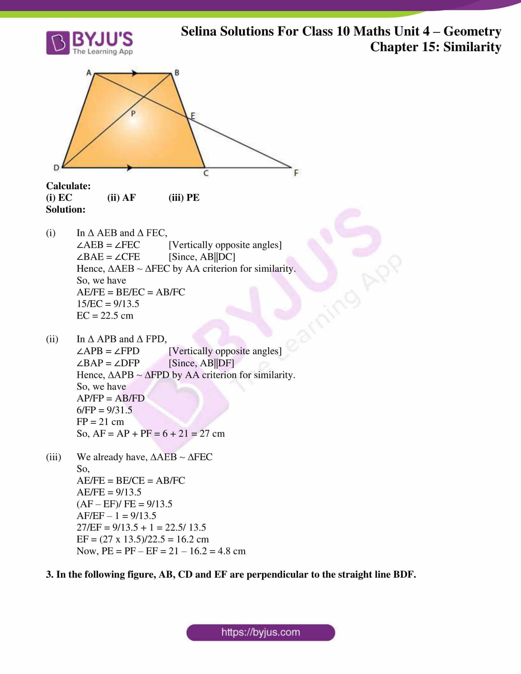 selina solution concise maths class 10 chapter 15 ex e 02
