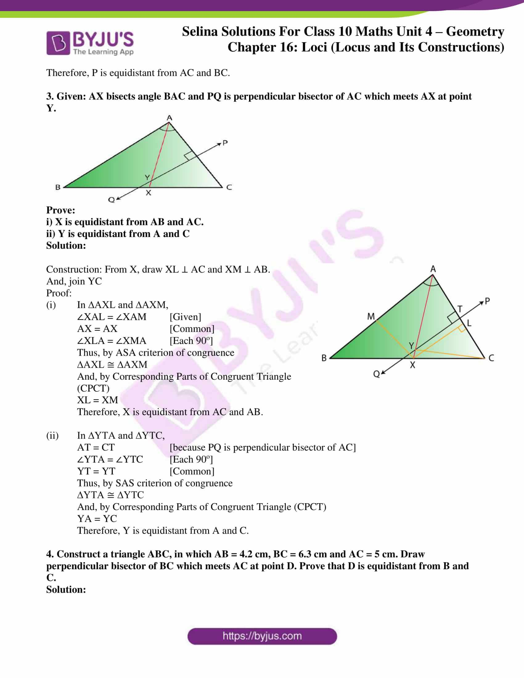 selina solution concise maths class 10 chapter 16 ex a 2