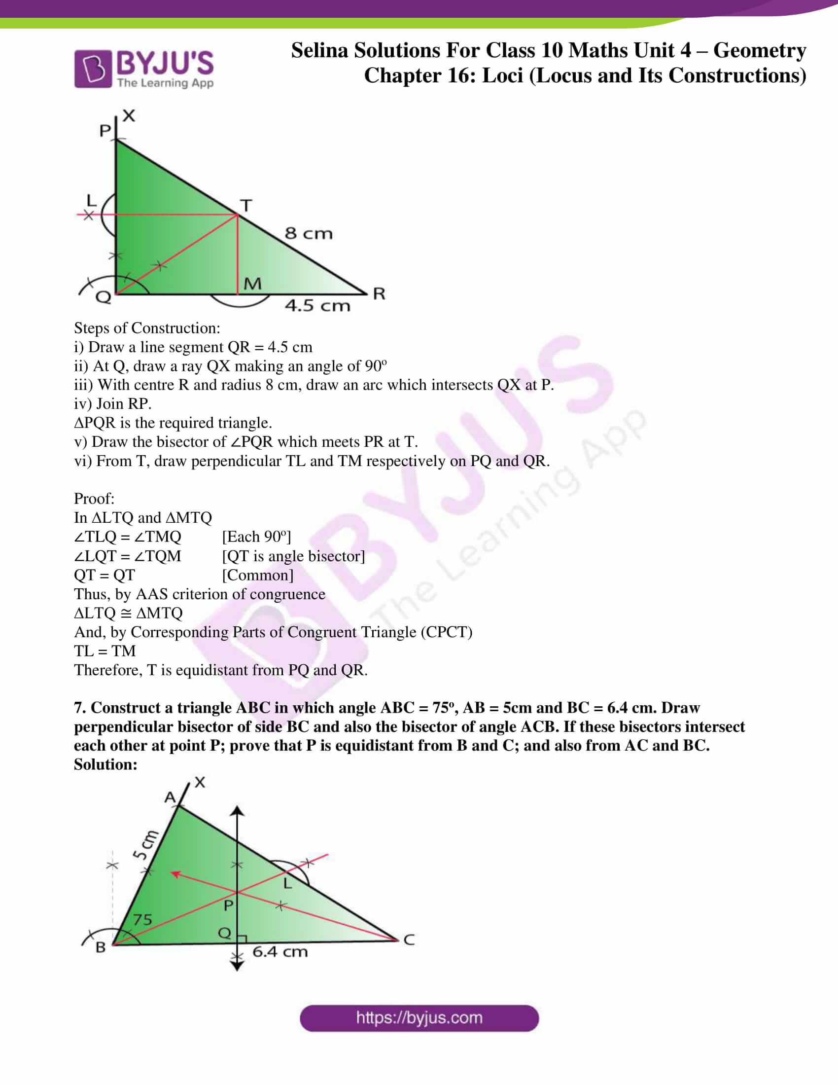 selina solution concise maths class 10 chapter 16 ex a 5