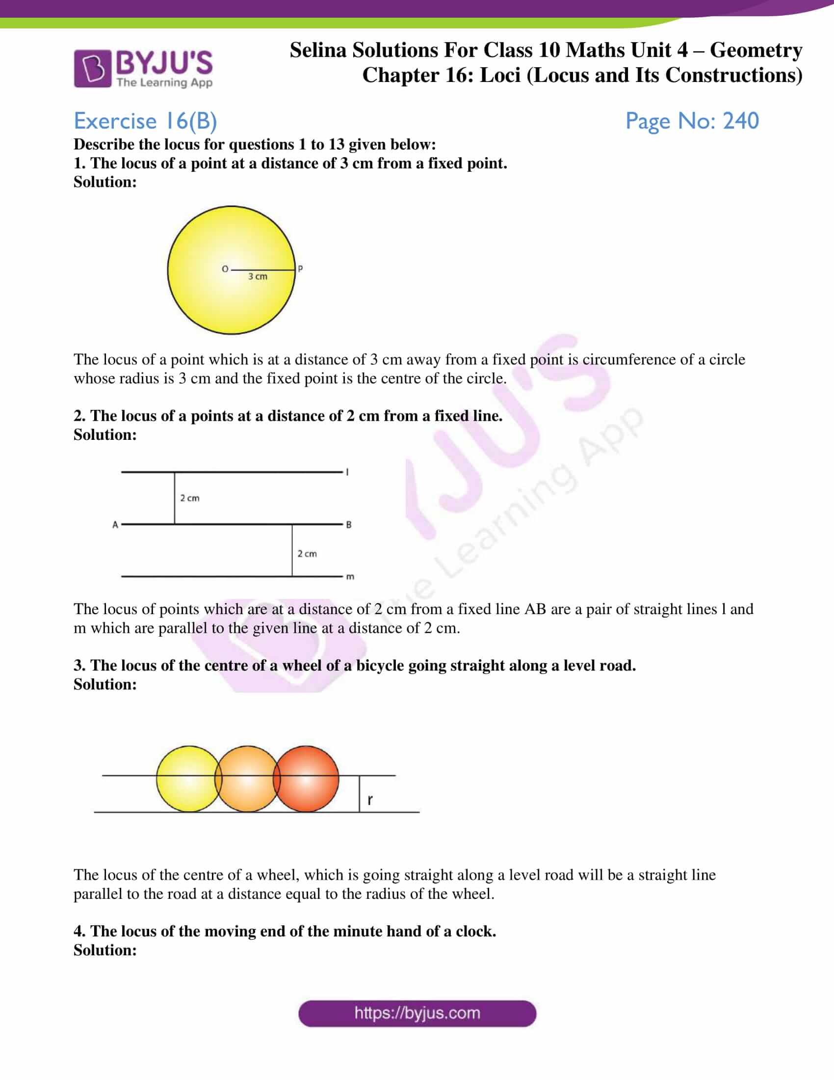 selina solution concise maths class 10 chapter 16 ex b 1